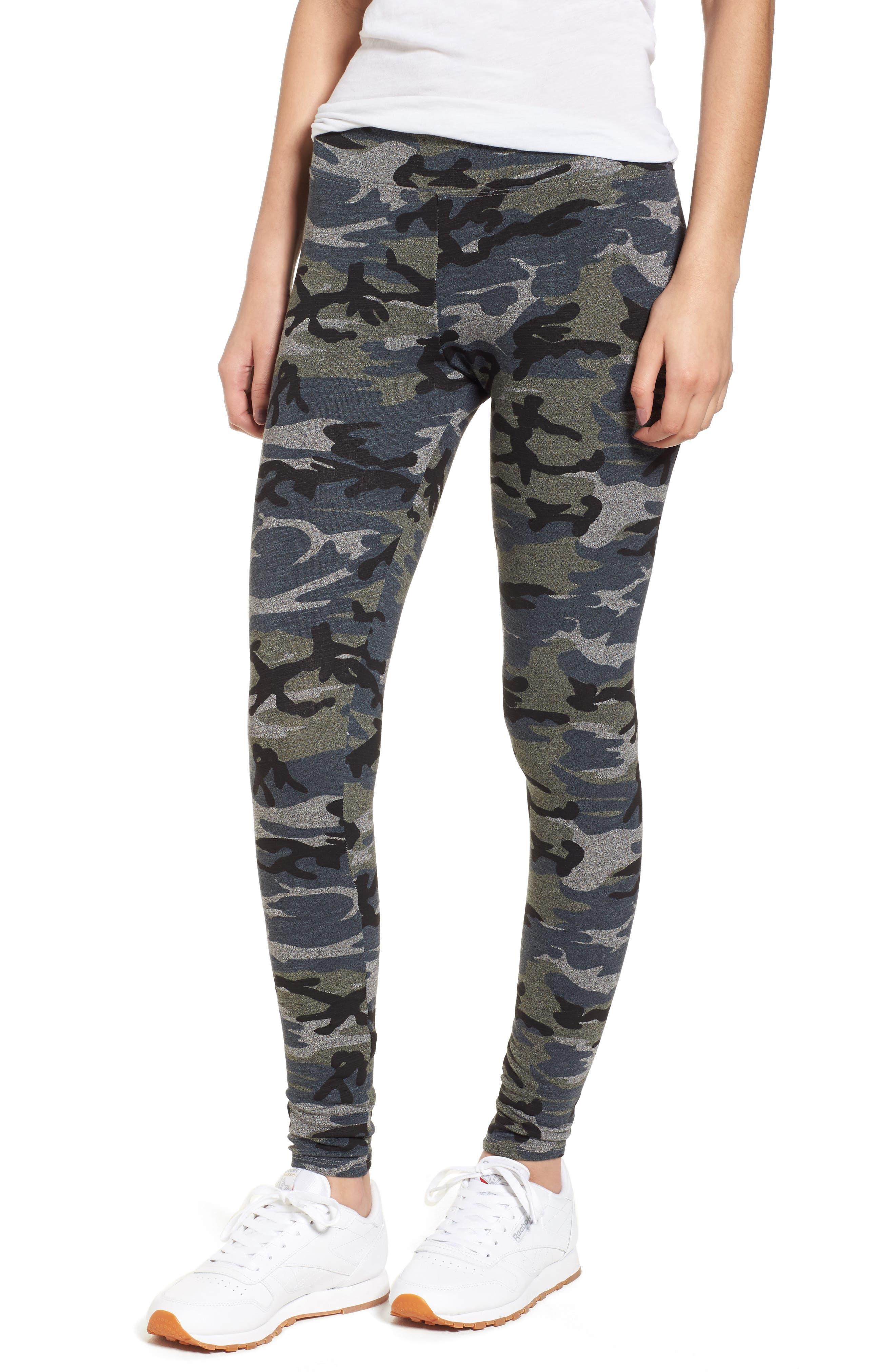 Camo Yoga Pants,                             Main thumbnail 2, color,