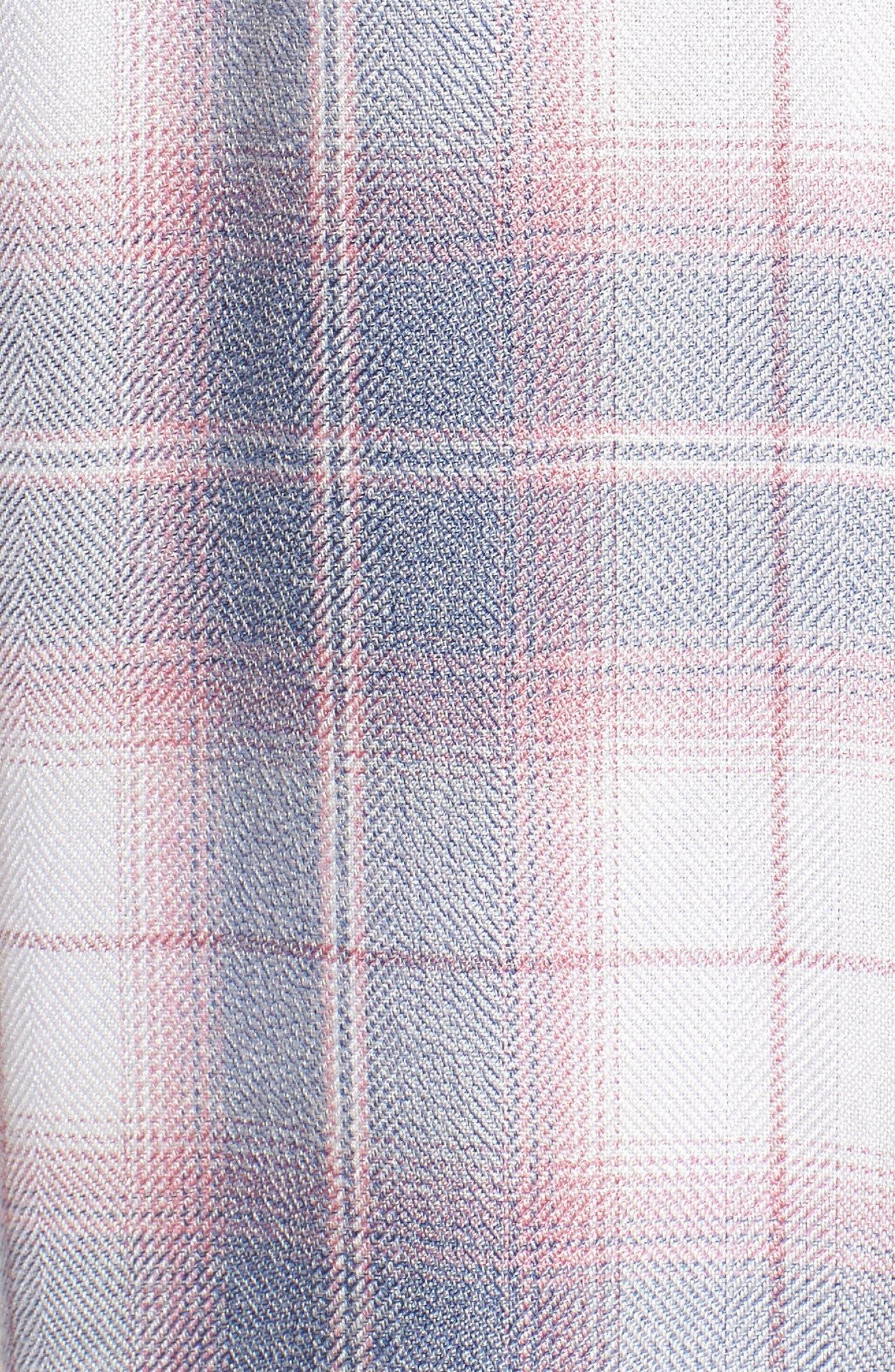 Hunter Plaid Shirt,                             Alternate thumbnail 596, color,
