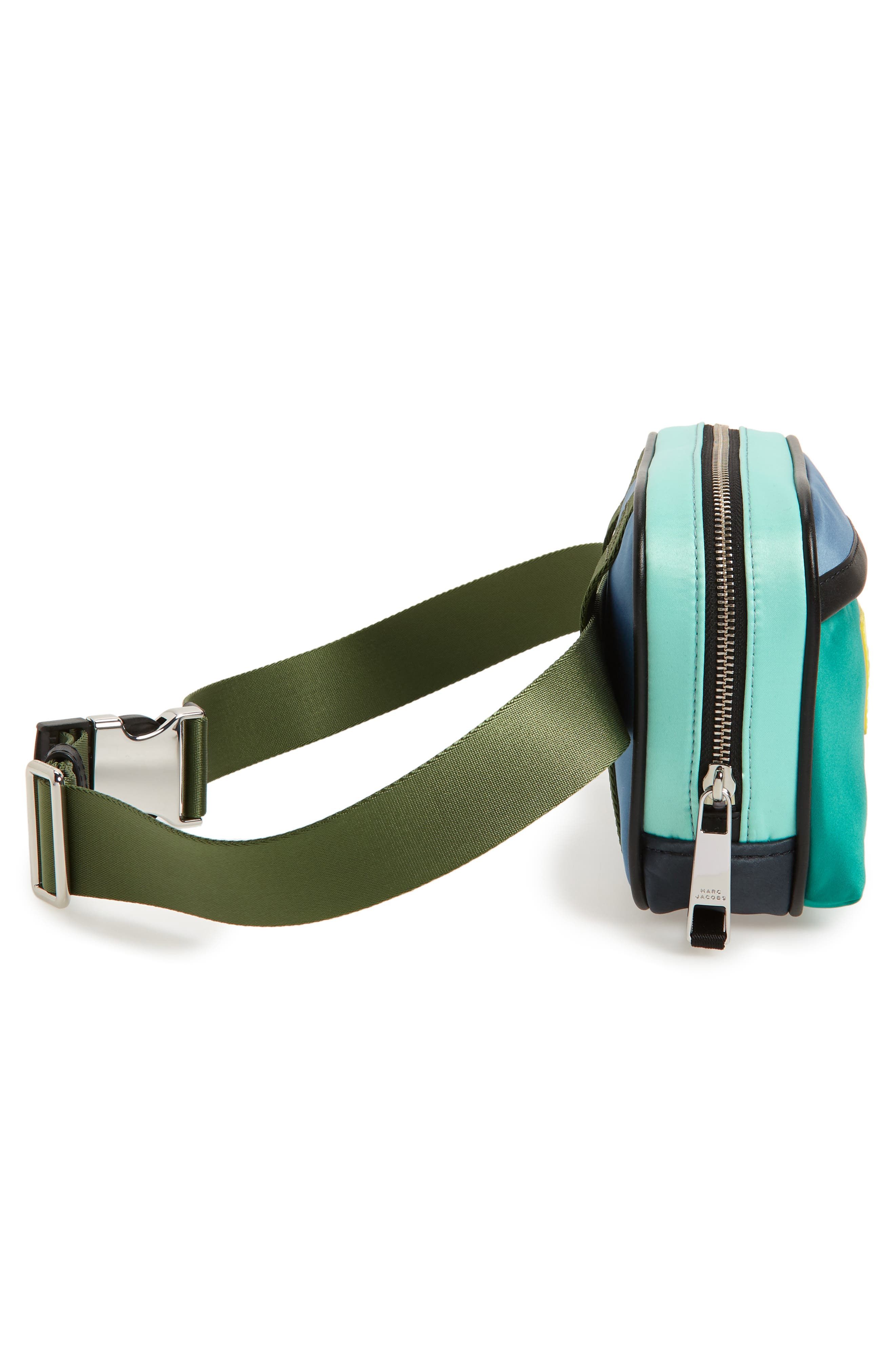 Sport Colorblock Belt Bag,                             Alternate thumbnail 6, color,                             332