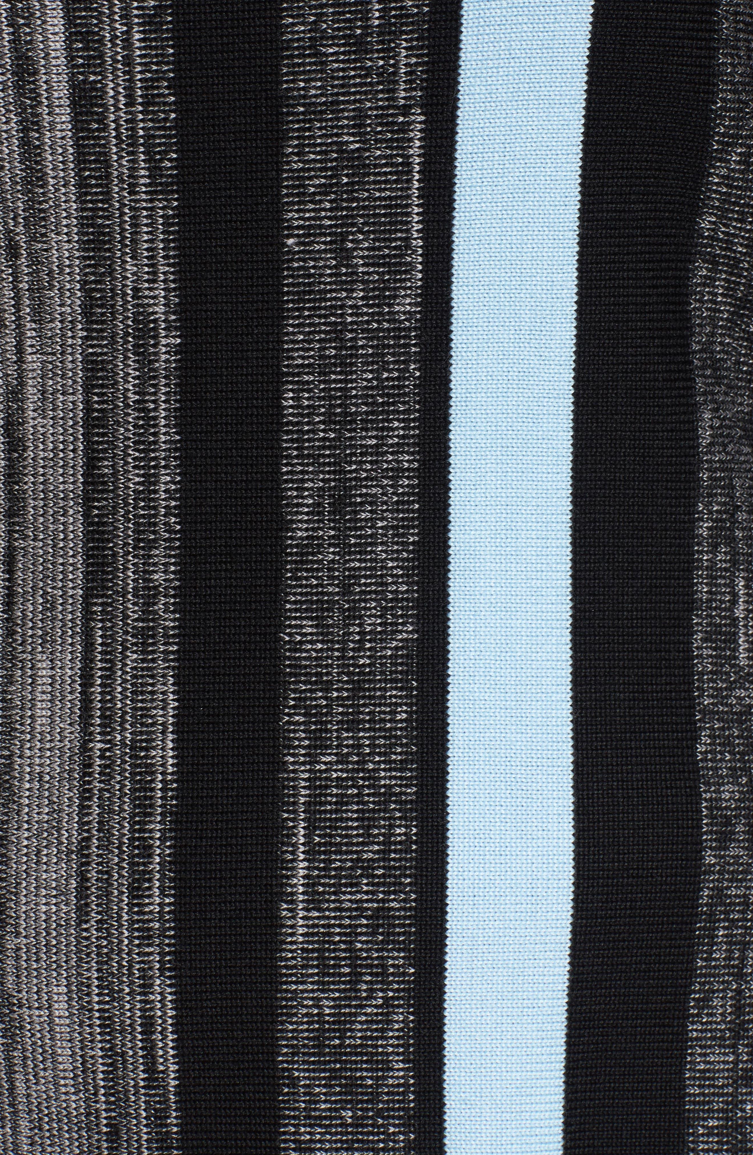 Fringe Trim Knit Tunic,                             Alternate thumbnail 5, color,                             021