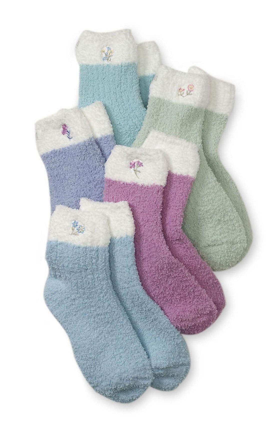 Slipper Socks, Main, color, AQM