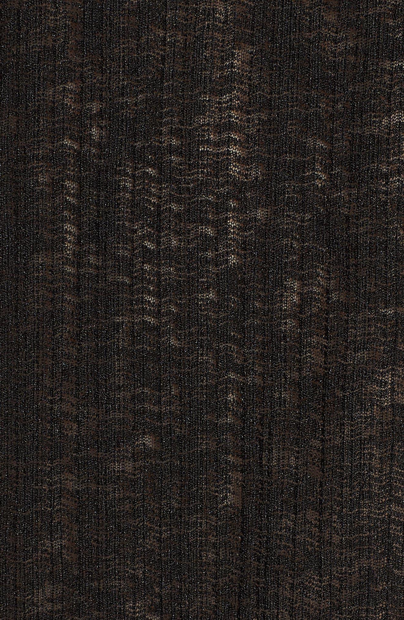 Fernanda Top,                             Alternate thumbnail 5, color,                             BLACK