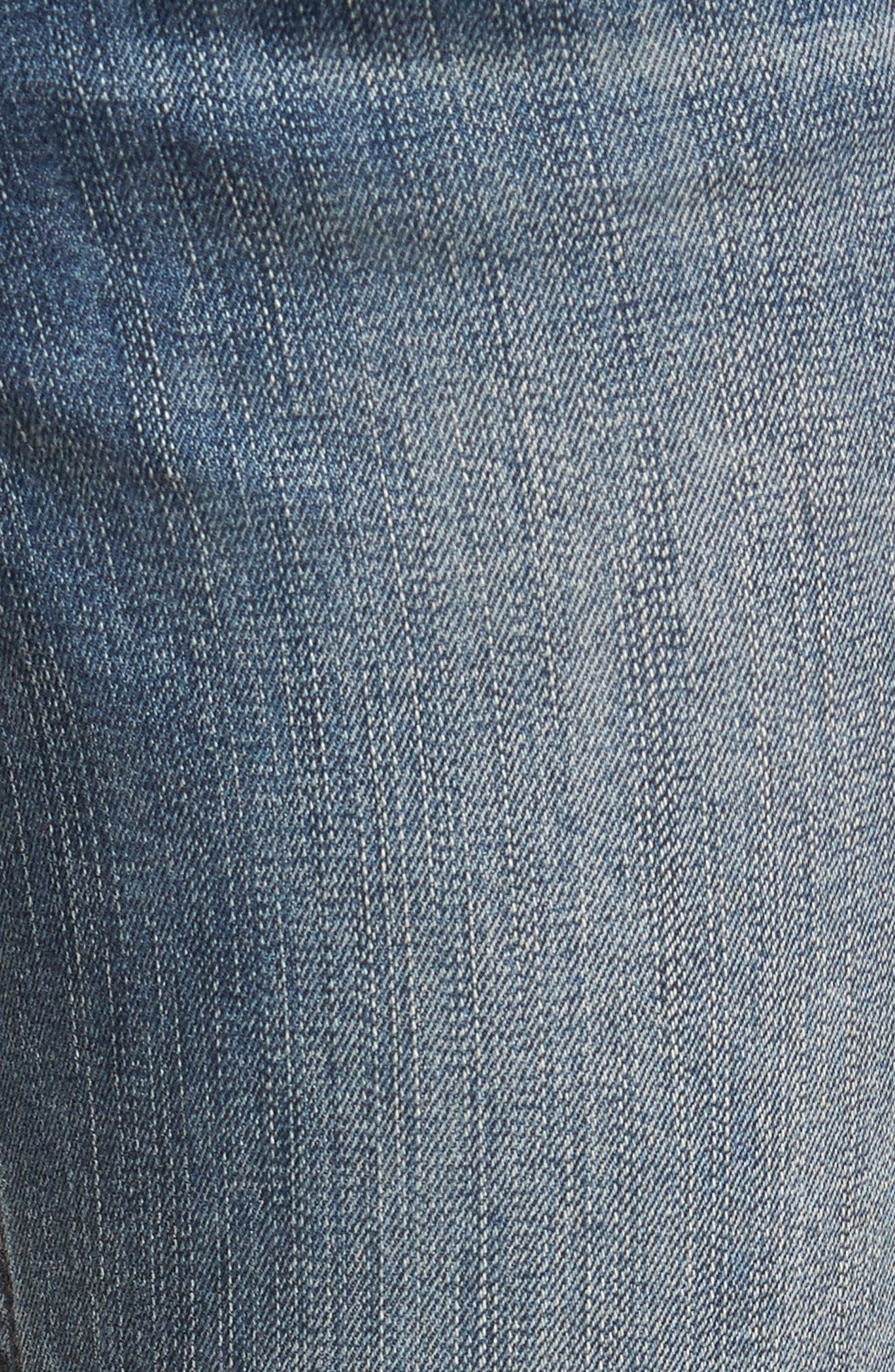 Ankle Skinny Jeans,                             Alternate thumbnail 5, color,                             400