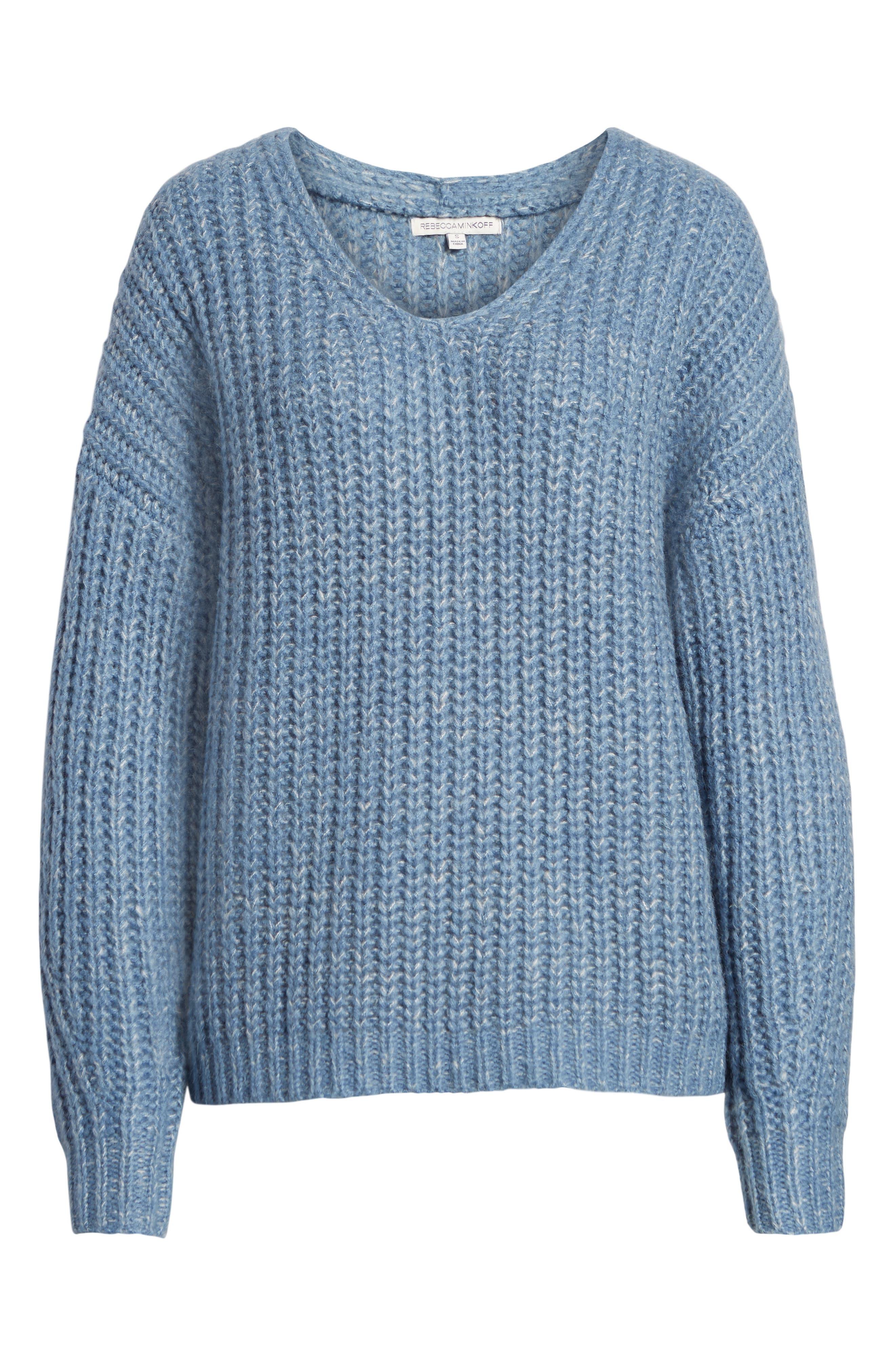 Dorit Sweater,                             Alternate thumbnail 6, color,                             BLUE