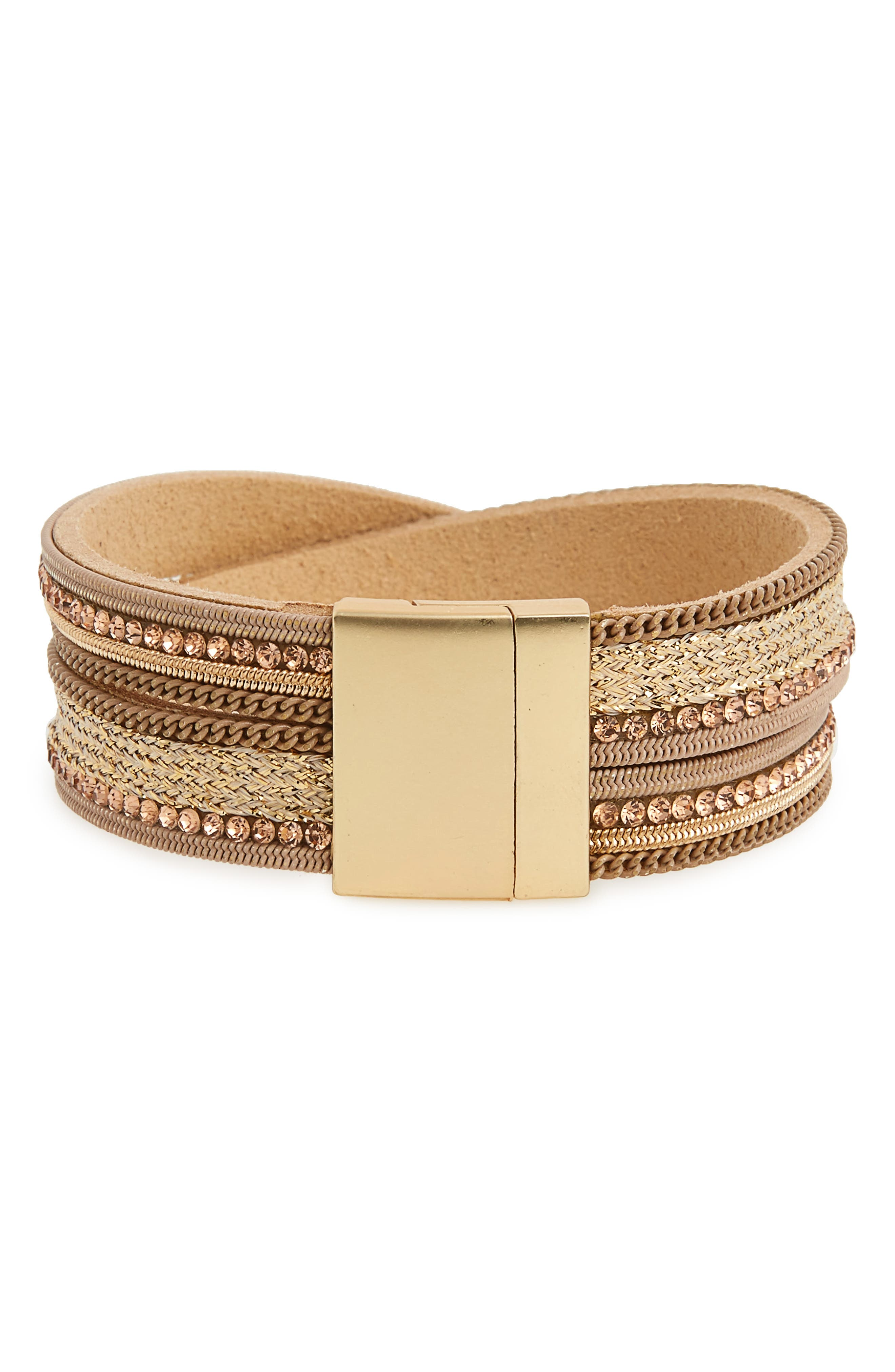 Crisscross Bracelet,                             Main thumbnail 1, color,