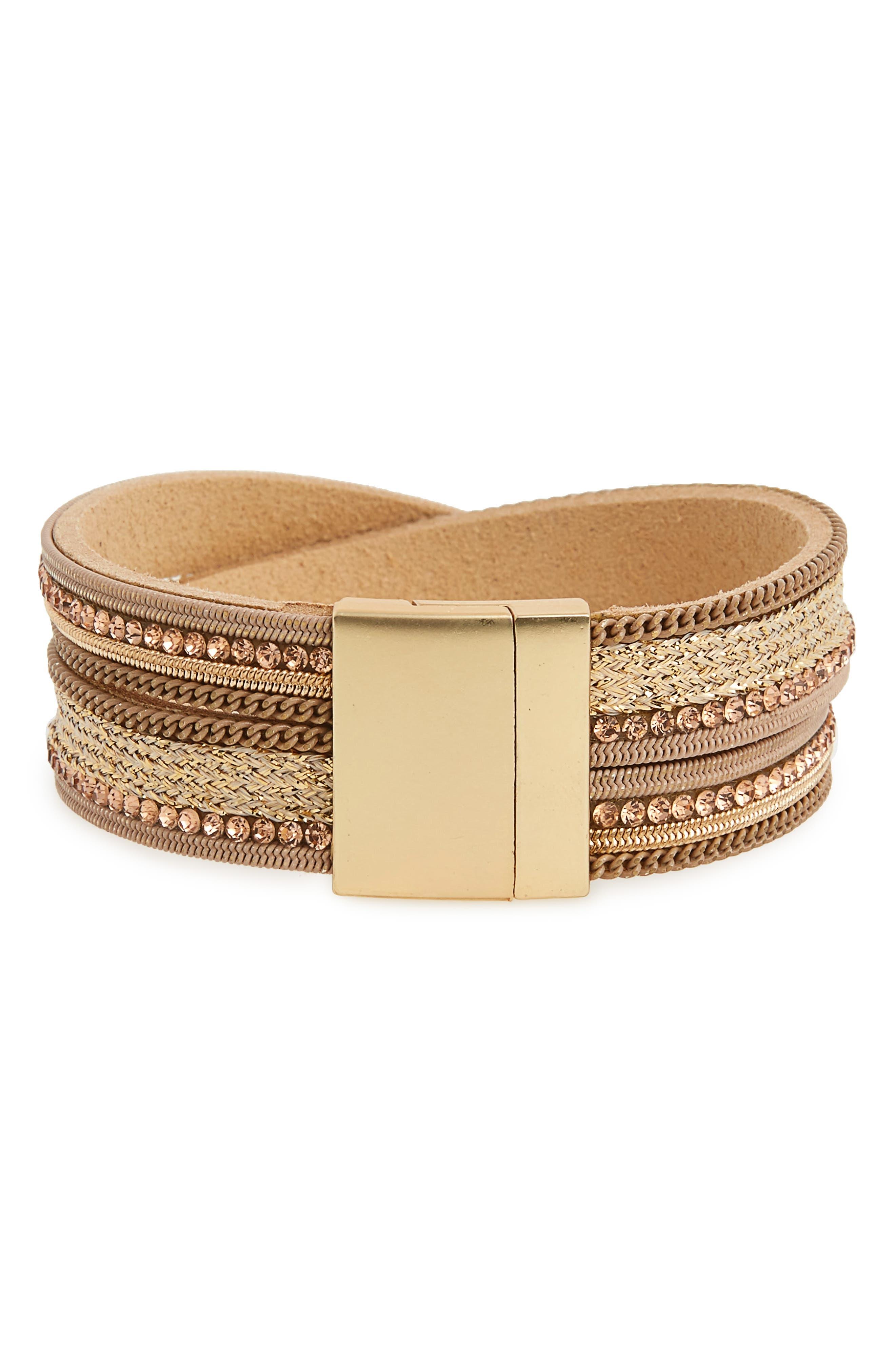 Crisscross Bracelet,                         Main,                         color,