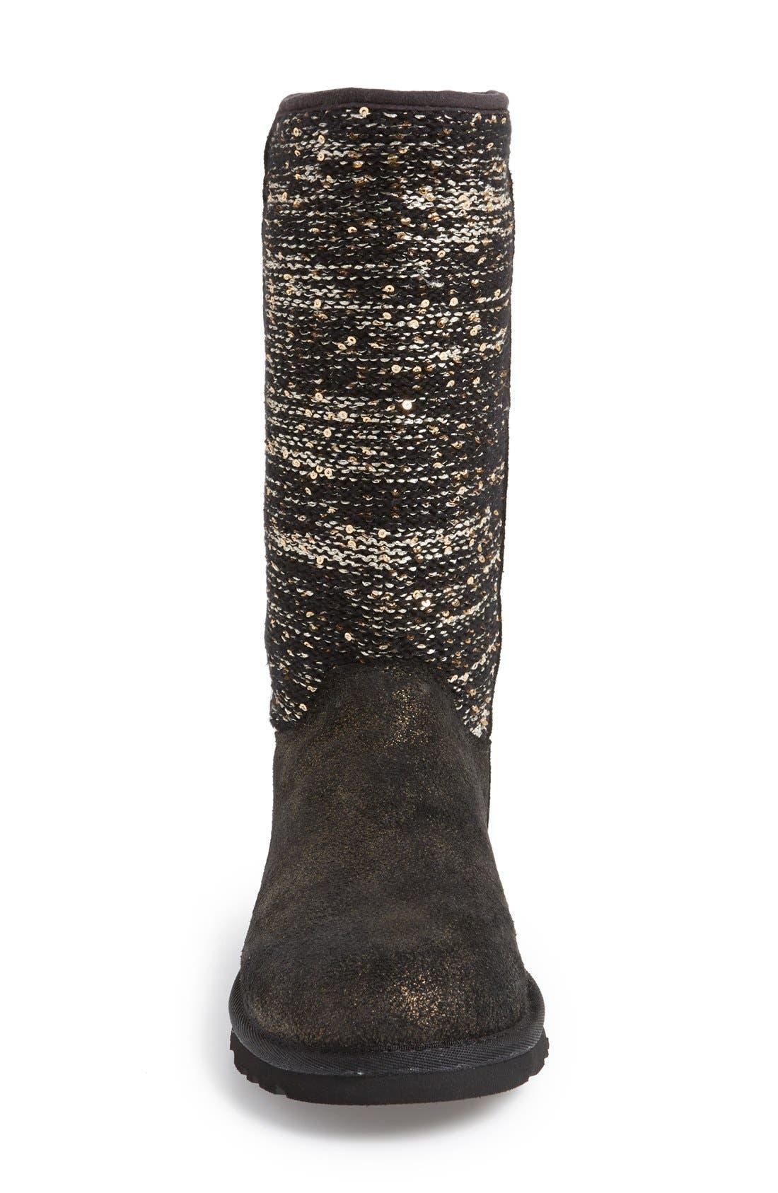 Australia 'Camaya' Boot,                             Alternate thumbnail 4, color,                             001