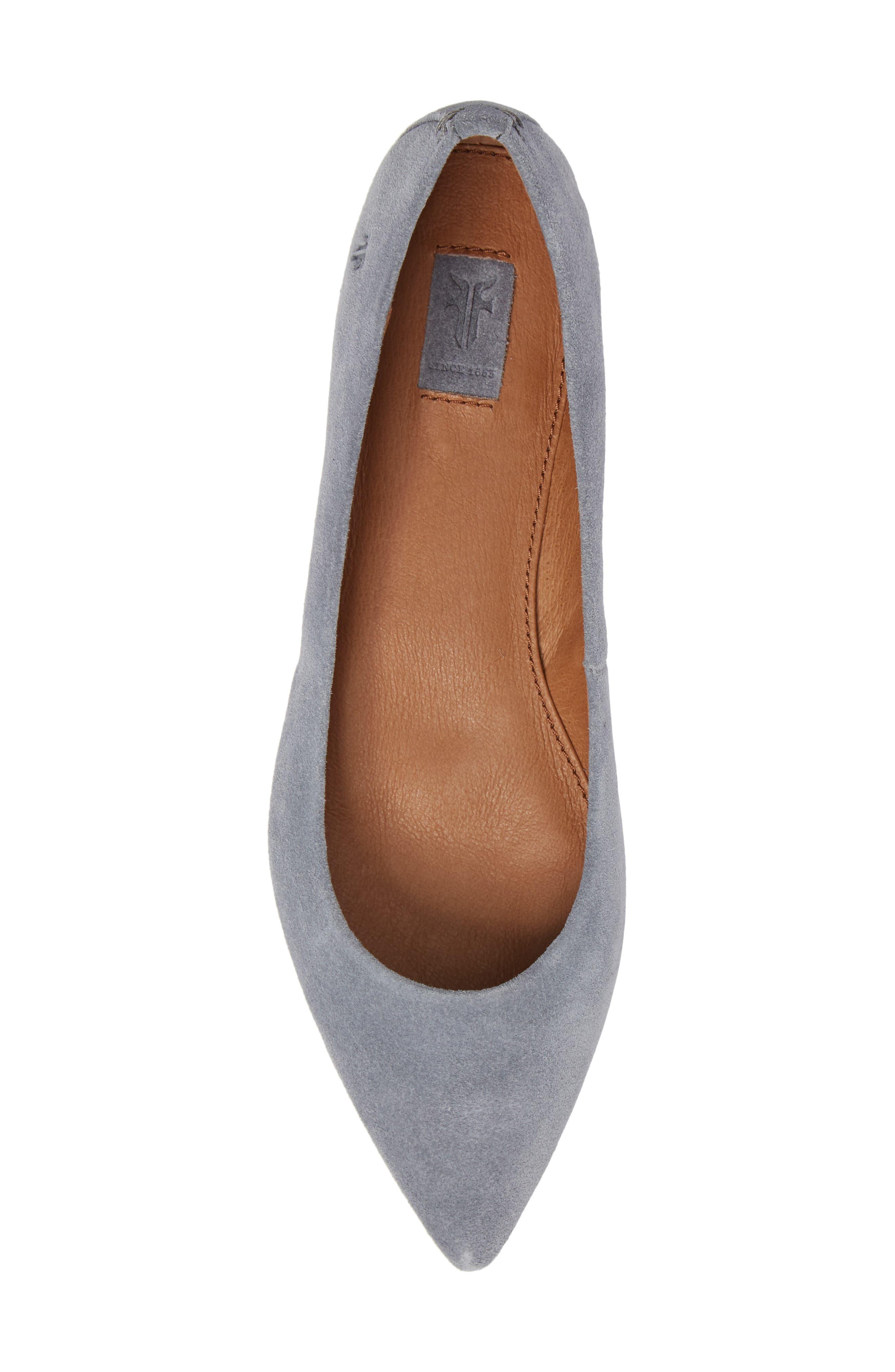 Sienna Pointy Toe Ballet Flat,                             Alternate thumbnail 15, color,