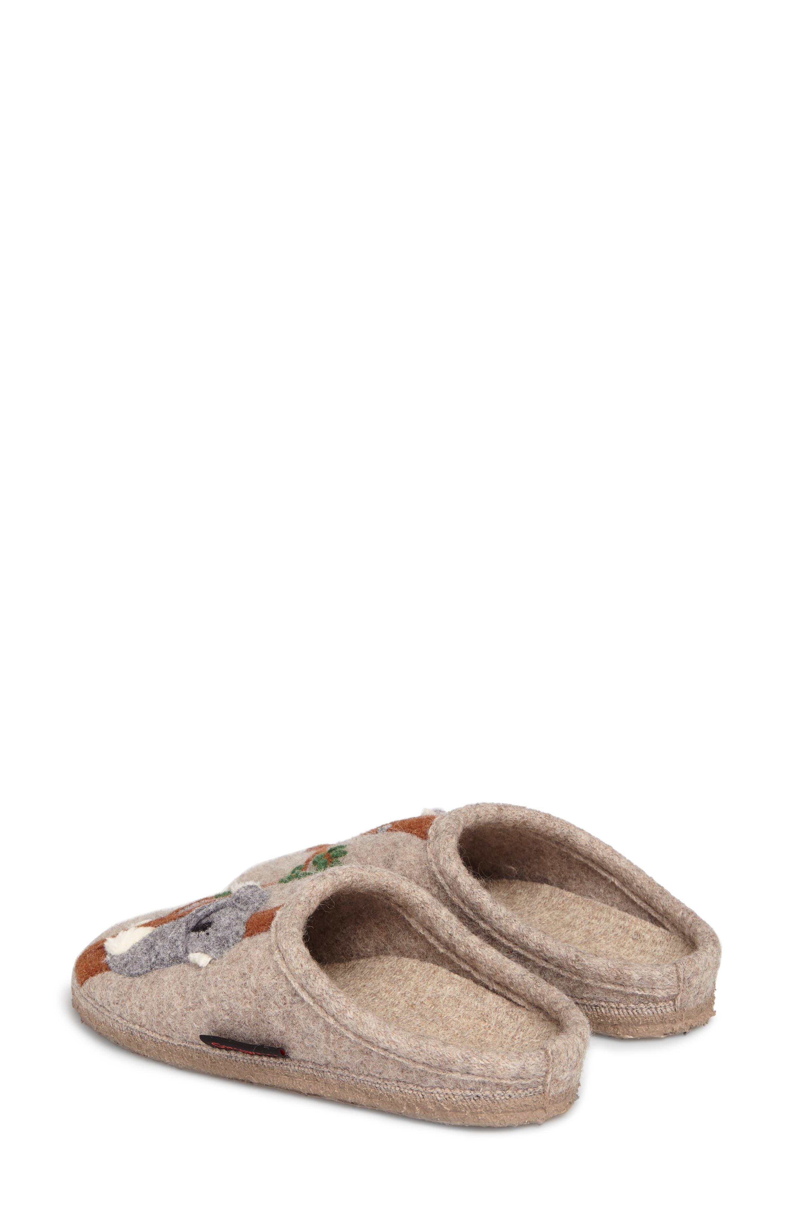 Koala Indoor Boiled Wool Slipper,                             Alternate thumbnail 2, color,                             NATURAL WOOL