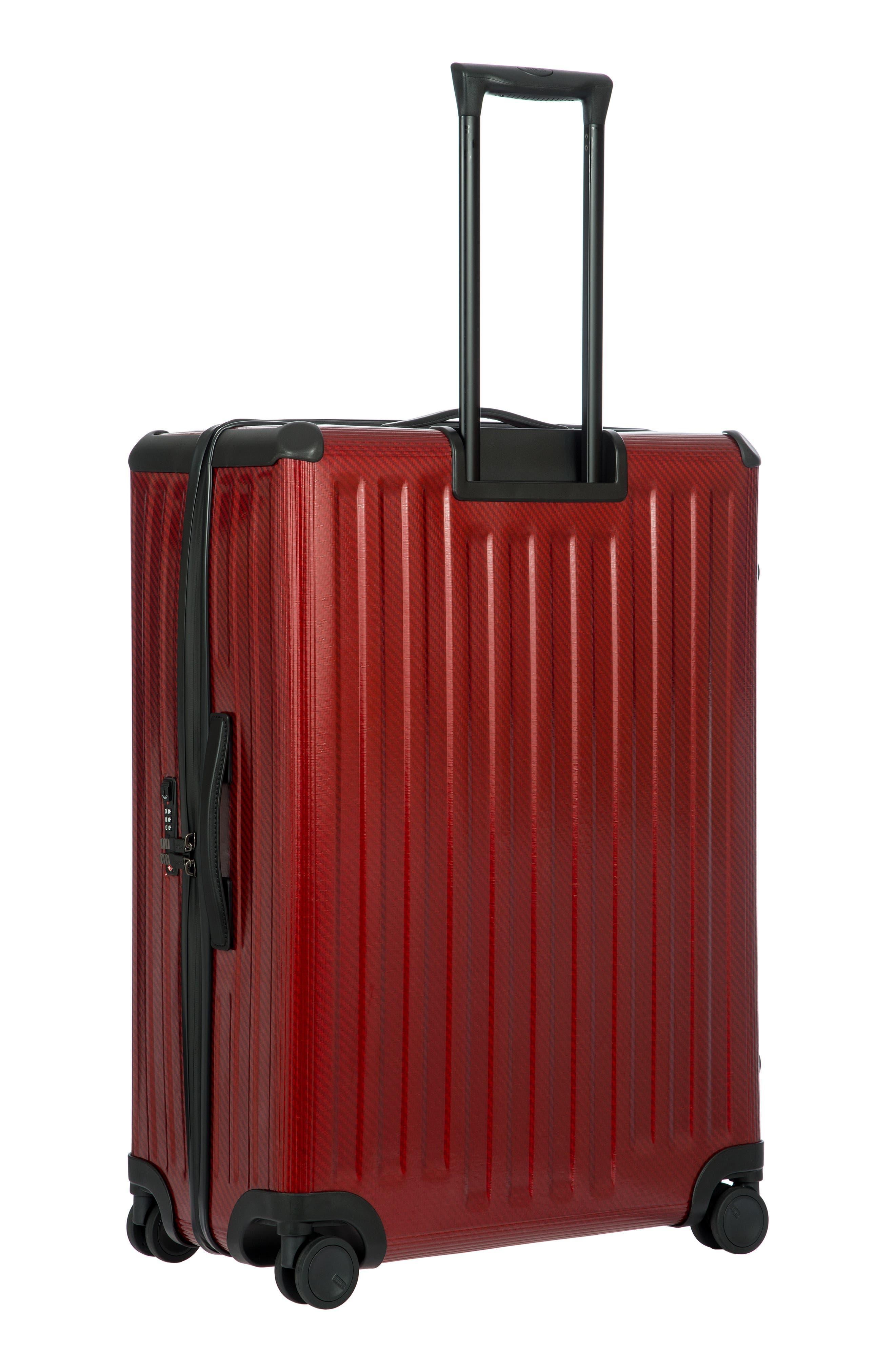 Venezia 30-Inch Hardshell Spinner Suitcase,                             Alternate thumbnail 4, color,                             RUBY