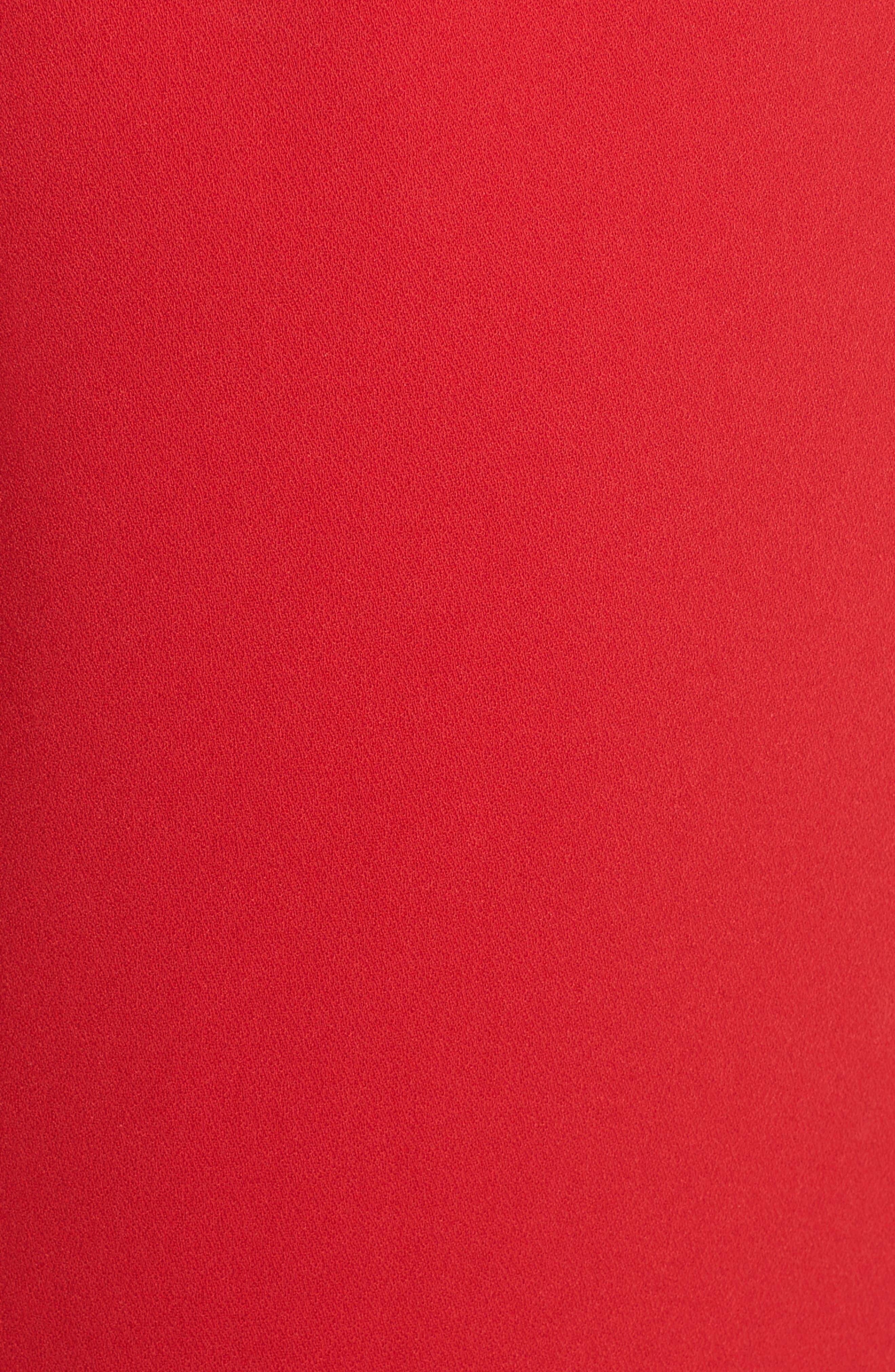 Lovers & Friends Anzen Strapless Gown,                             Alternate thumbnail 5, color,                             600