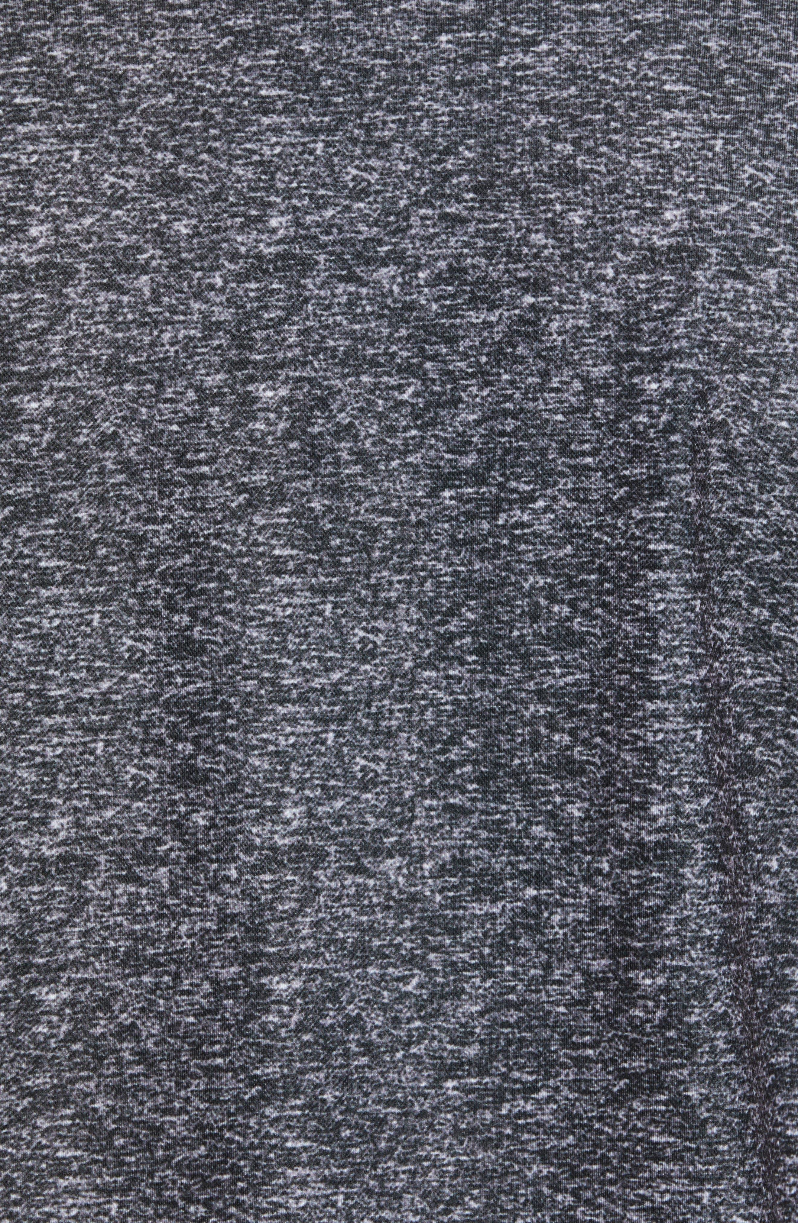 Rule 18 Tech Raglan Pullover,                             Alternate thumbnail 5, color,                             BLACK