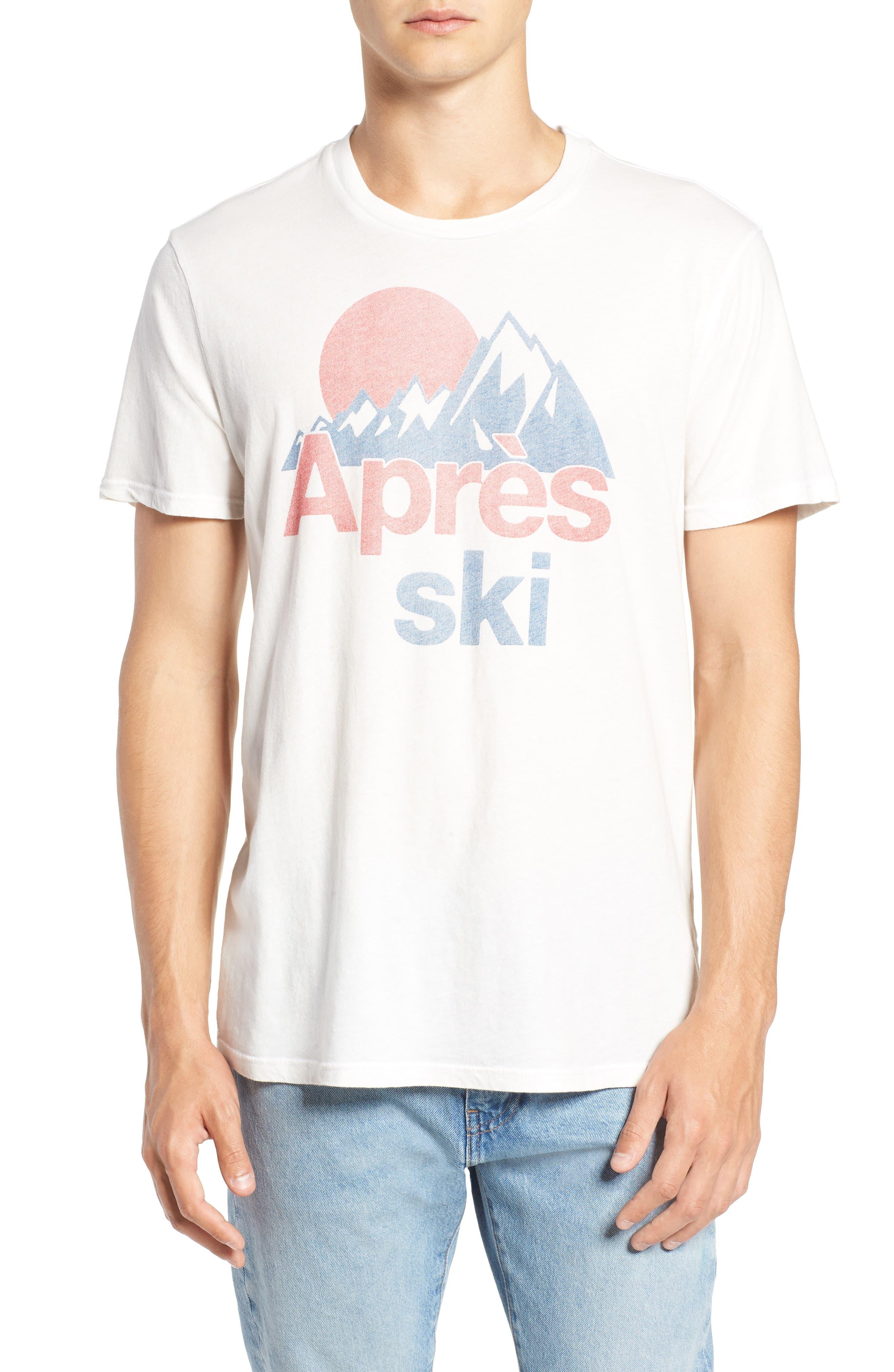 Après Ski Graphic T-Shirt,                             Main thumbnail 1, color,                             100