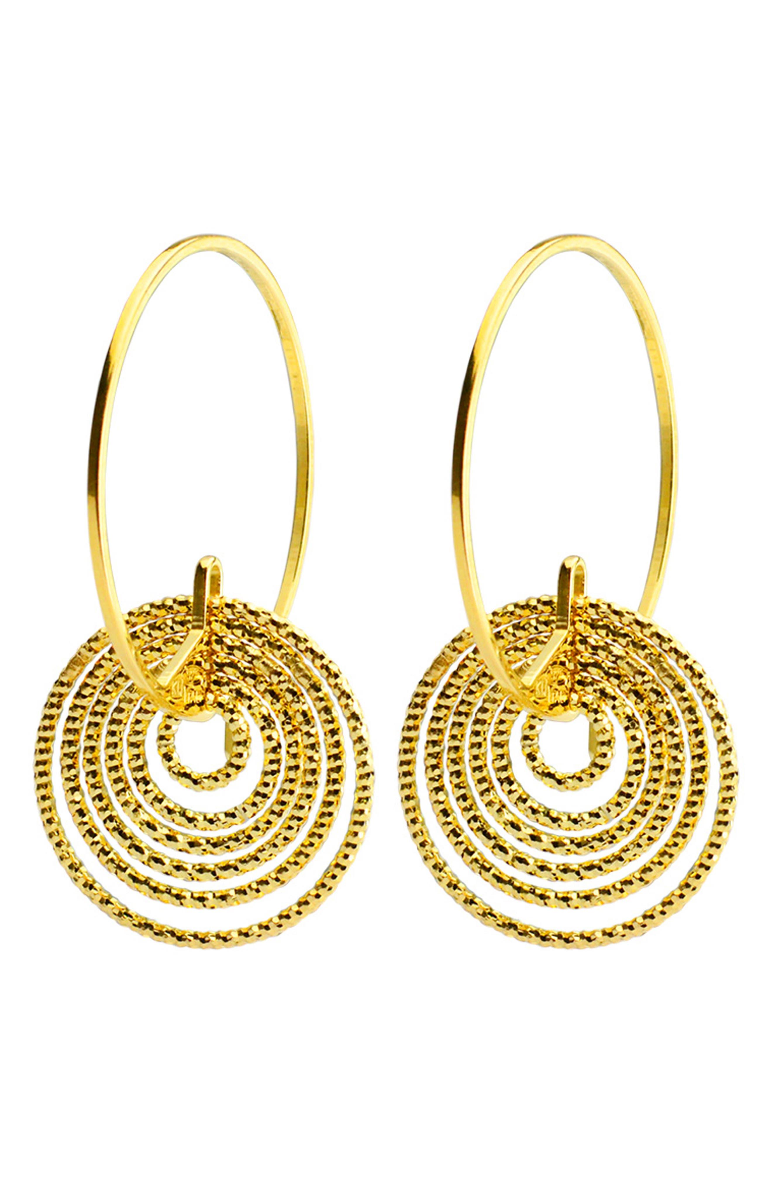 Summer Night Hoop Earrings,                         Main,                         color,