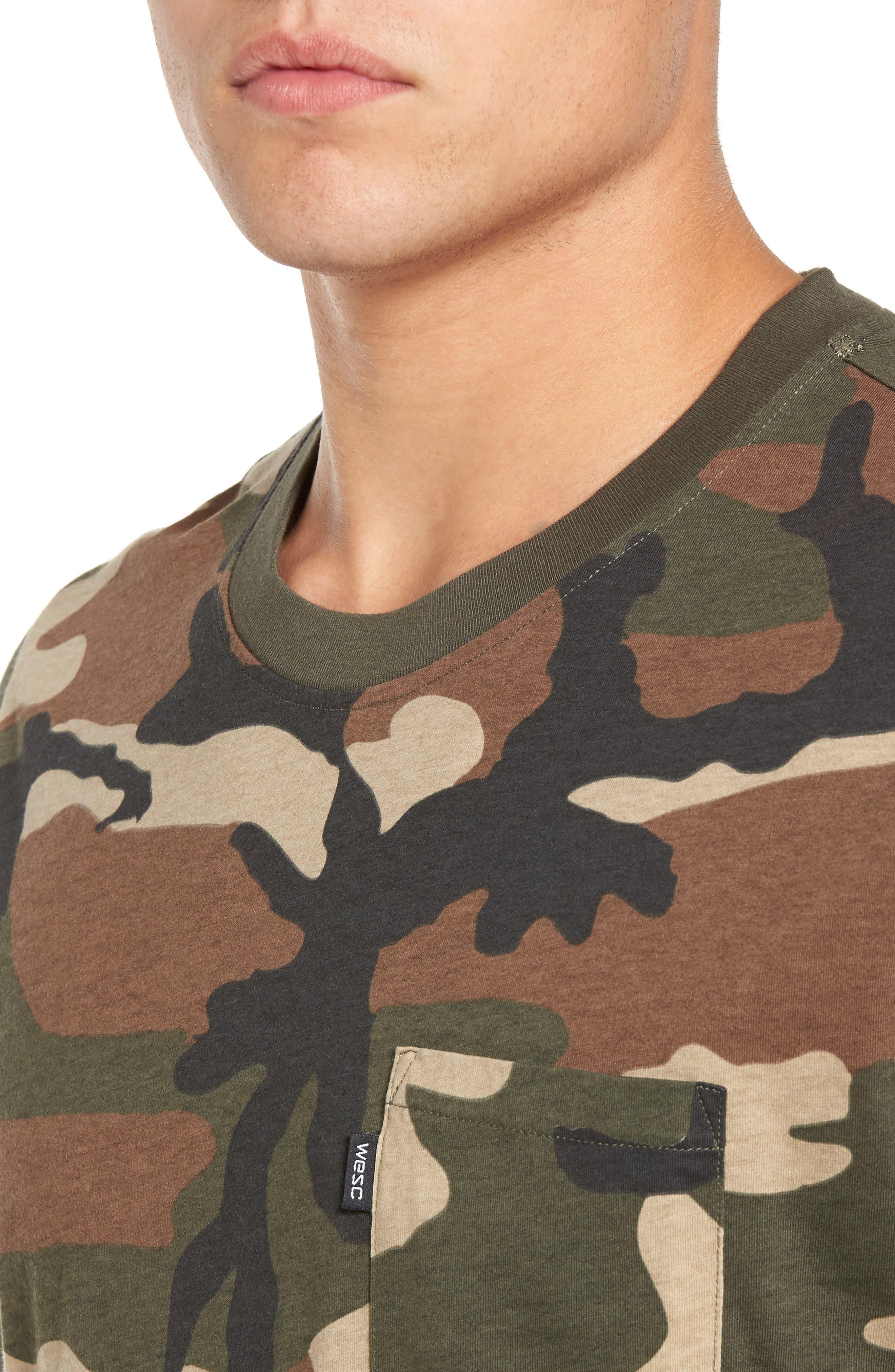 Maxwell Camo T-Shirt,                             Alternate thumbnail 4, color,                             307