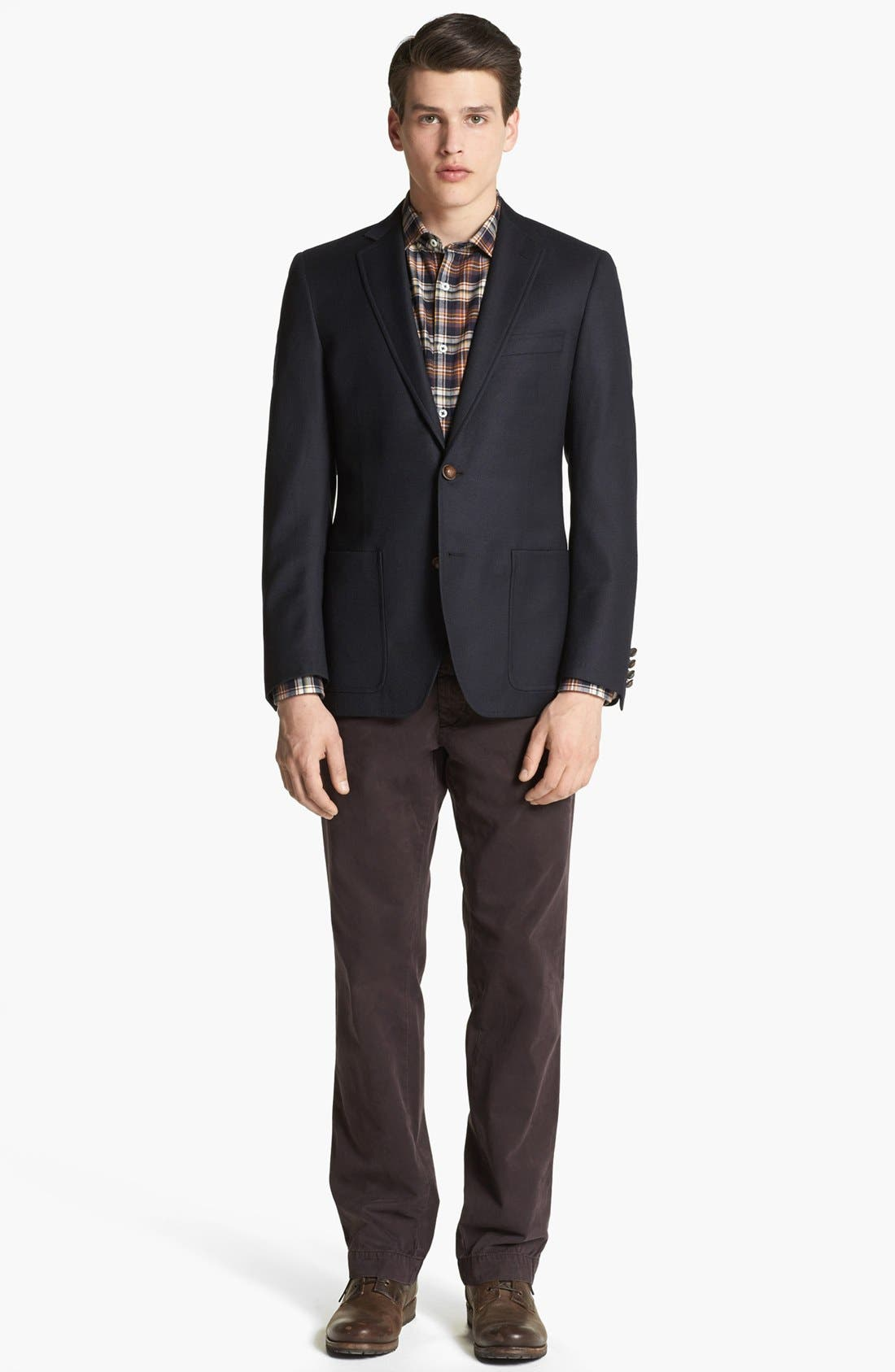 BILLY REID,                             'Campbell' Wool Sportcoat,                             Alternate thumbnail 4, color,                             410