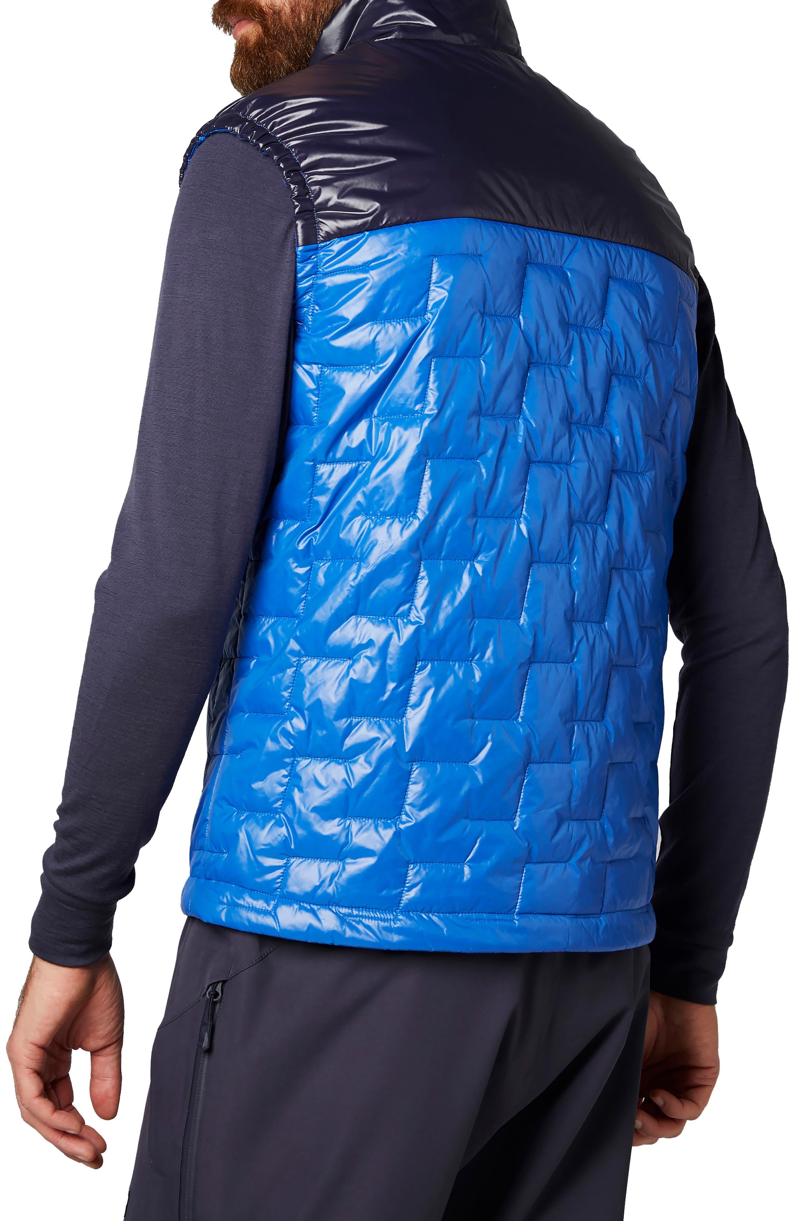 Liftaloft<sup>™</sup> Hybrid Water- & Wind-Resistant Insulator Vest,                             Alternate thumbnail 2, color,                             OLYMPIAN BLUE