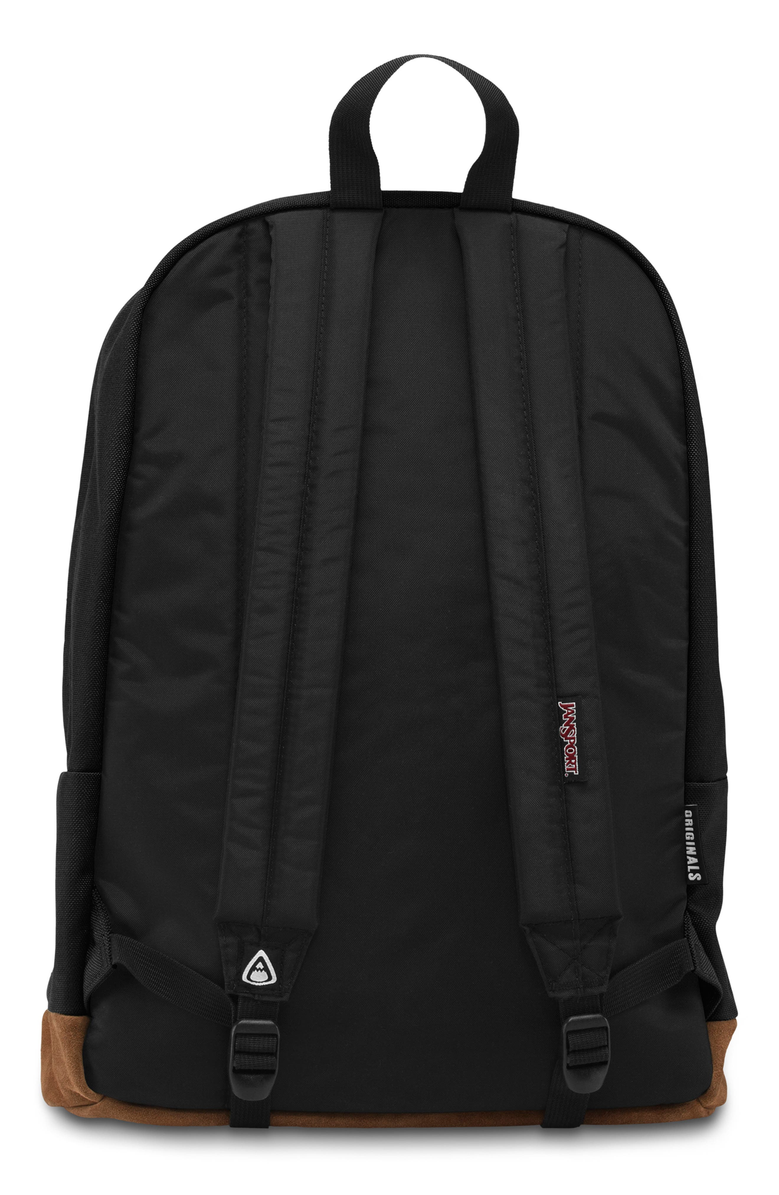 'Right Pack' Backpack,                             Alternate thumbnail 4, color,                             BLACK