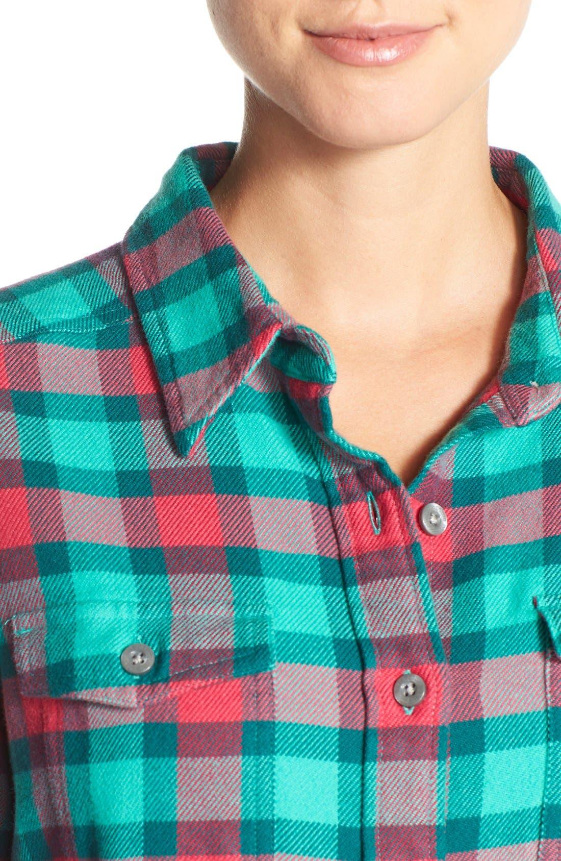 'Fjord' Flannel Shirt,                             Alternate thumbnail 72, color,