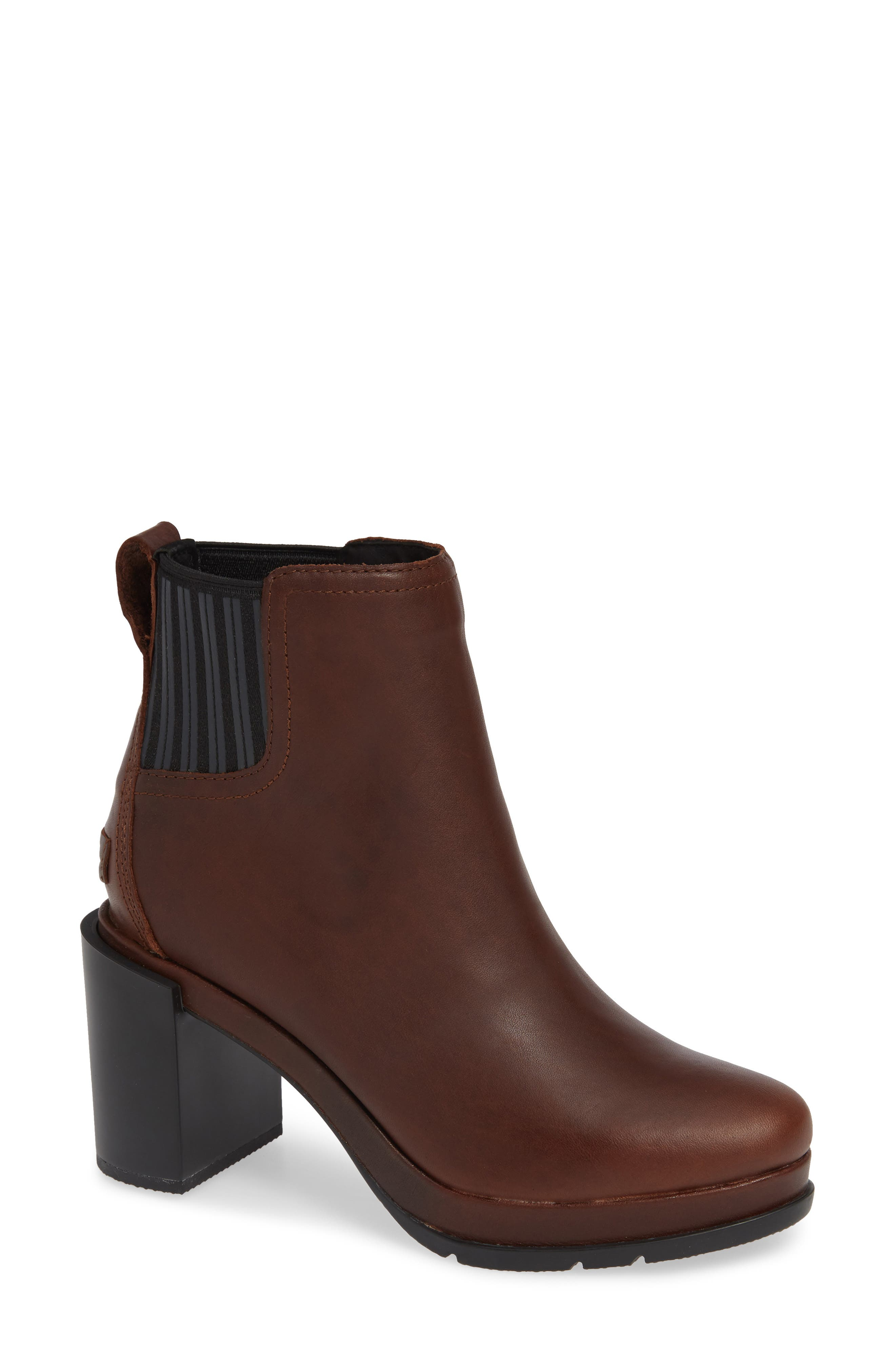 Sorel Margo Waterproof Chelsea Boot, Brown