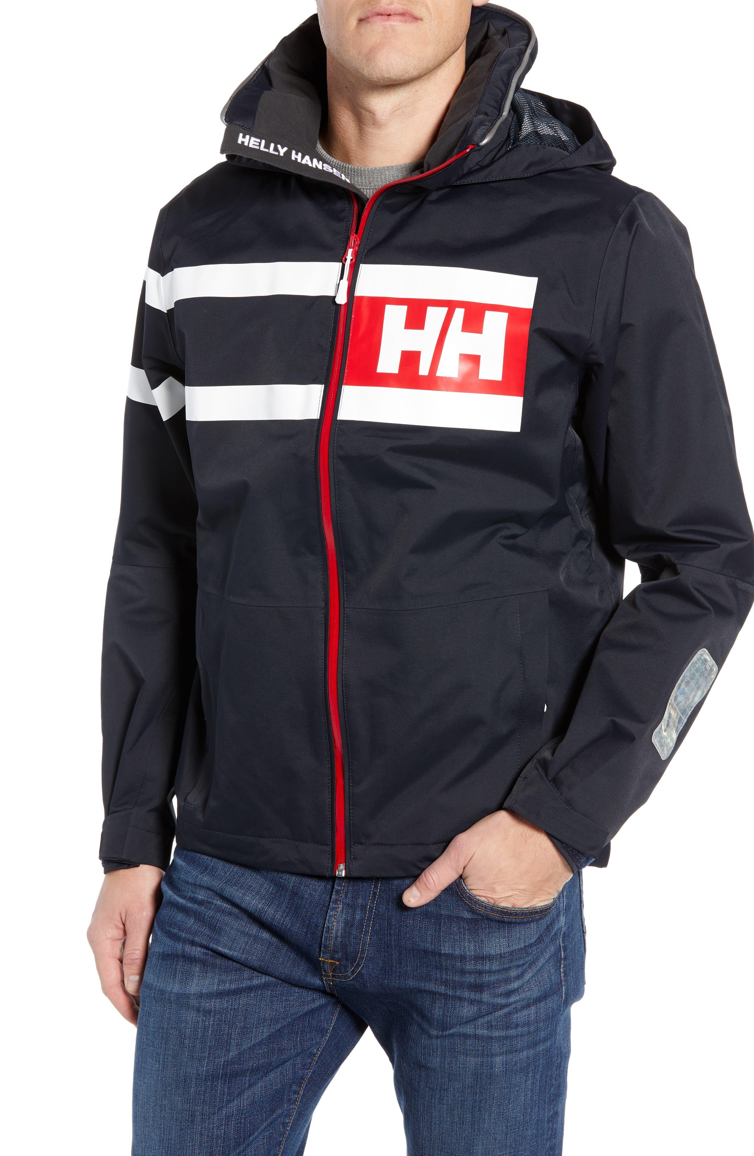 Helly Hansen Salt Power Hooded Jacket, Blue