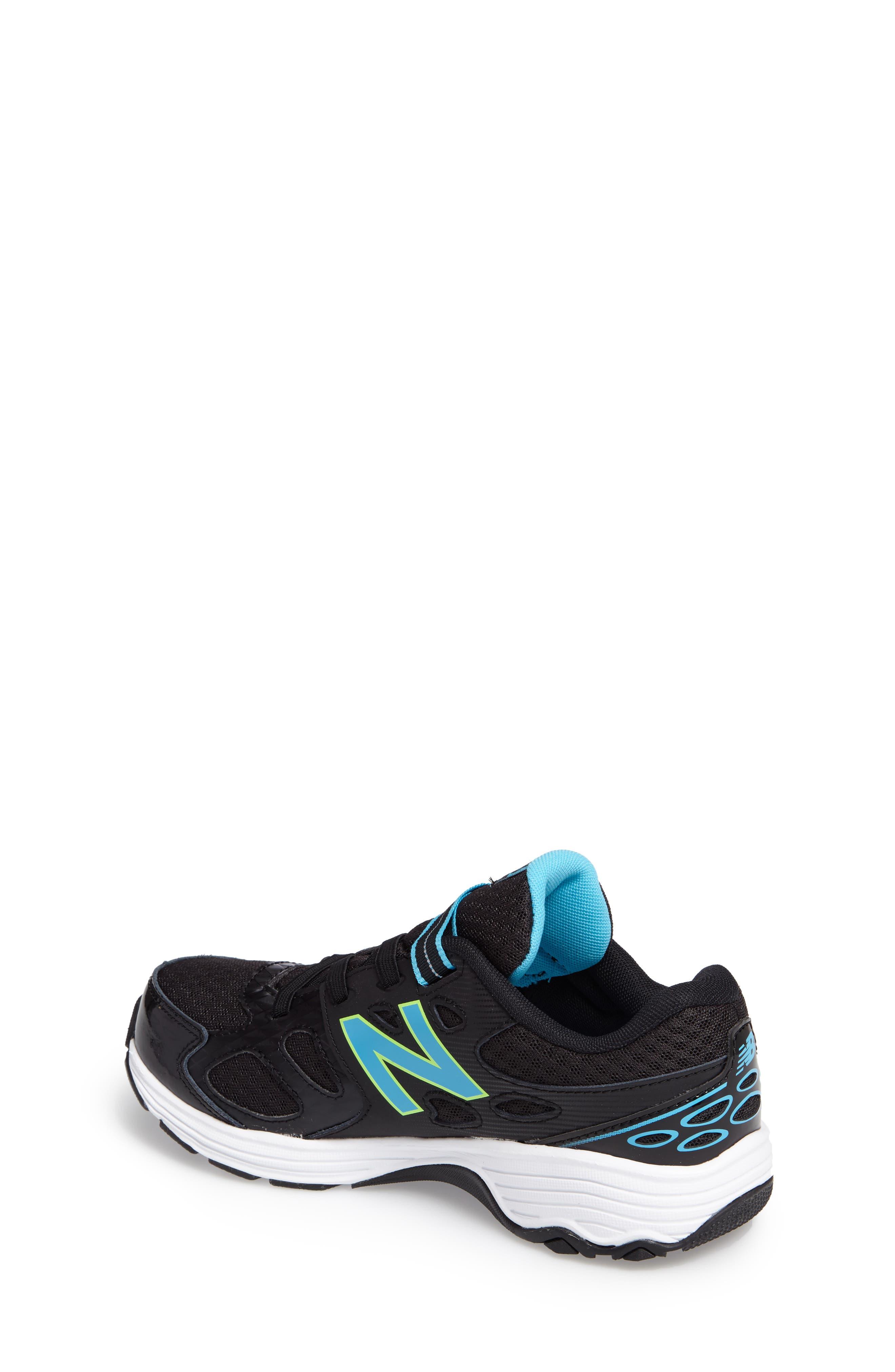 680v3 Sneaker,                             Alternate thumbnail 2, color,                             BLACK/BLUE