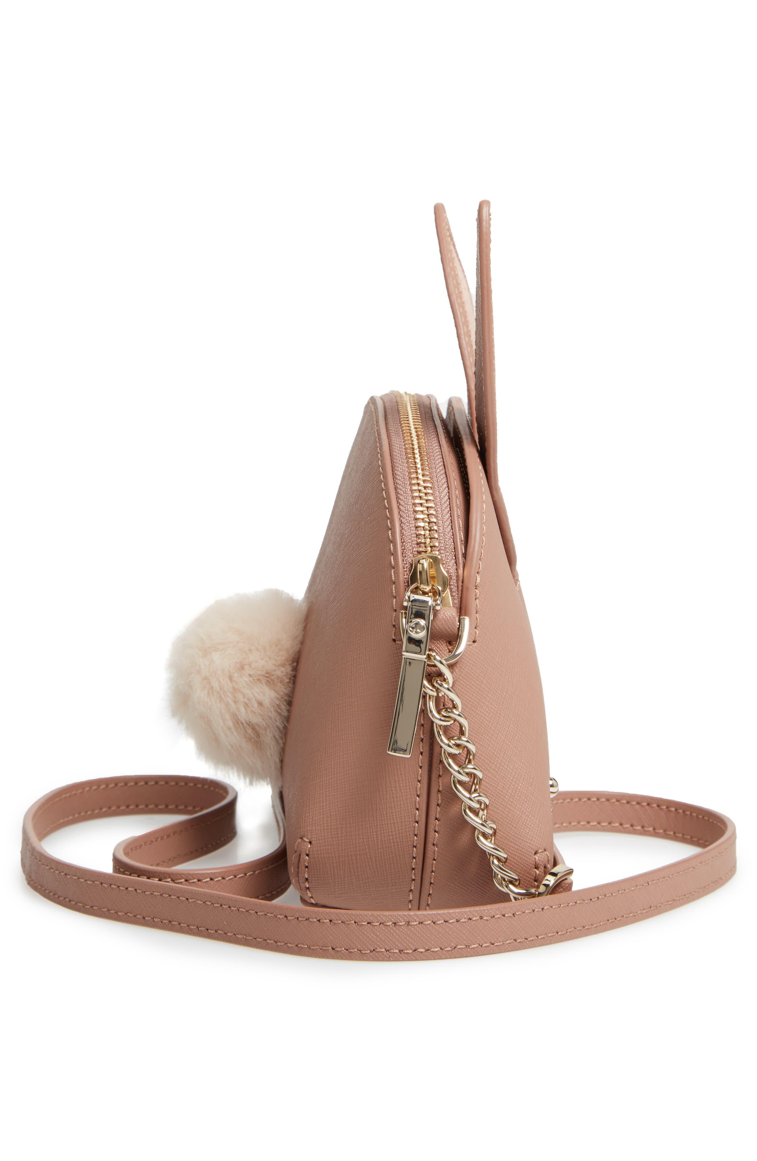 KATE SPADE NEW YORK,                             desert muse rabbit hilli bag,                             Alternate thumbnail 5, color,                             200