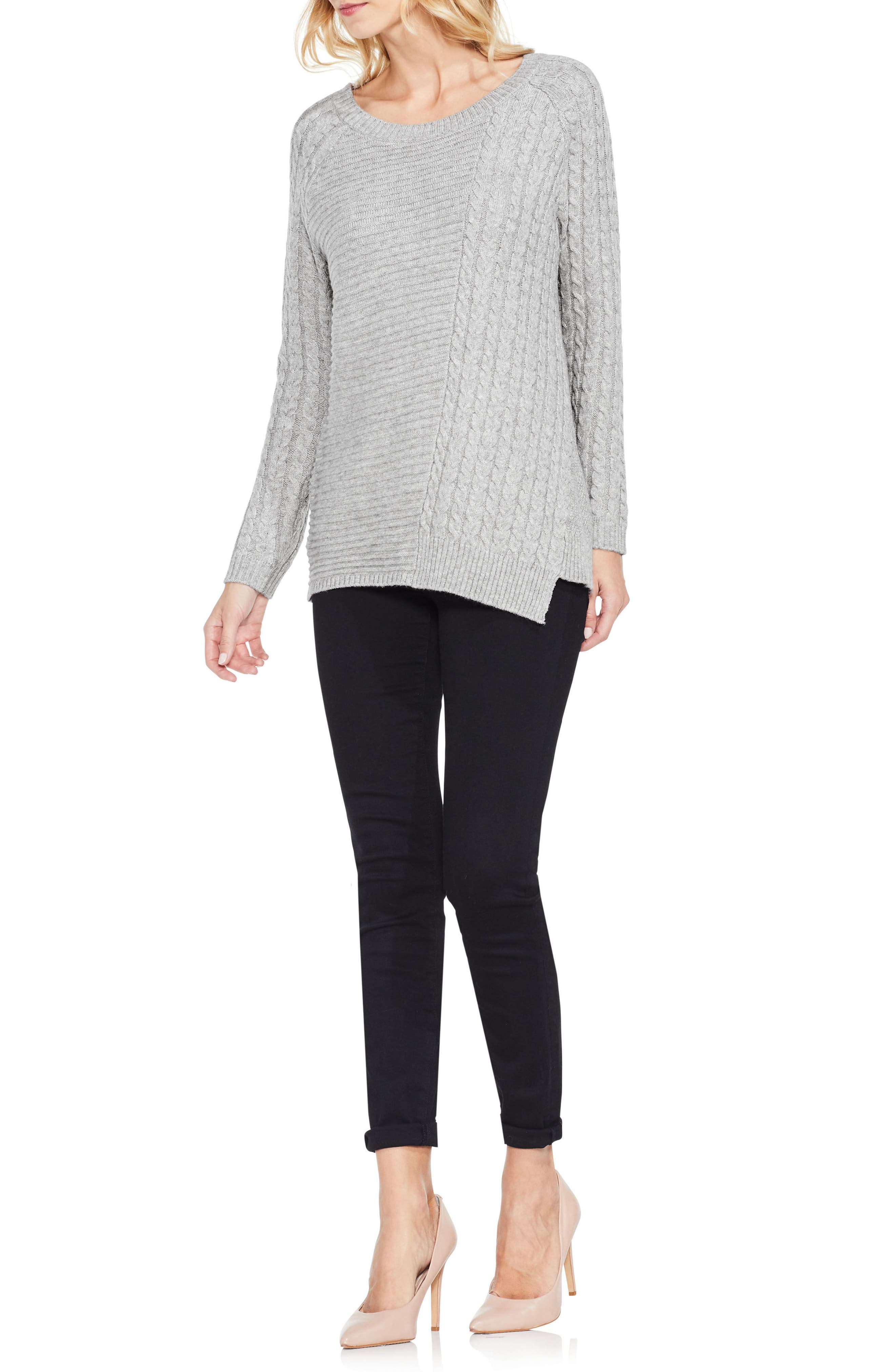 Mixed Stitch Sweater,                             Alternate thumbnail 12, color,
