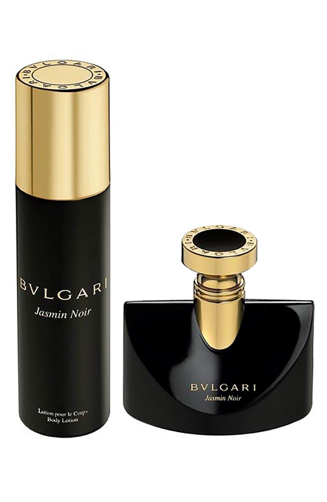 BVLGARI,                             'Jasmin Noir' Deluxe Gift Set,                             Main thumbnail 1, color,                             000