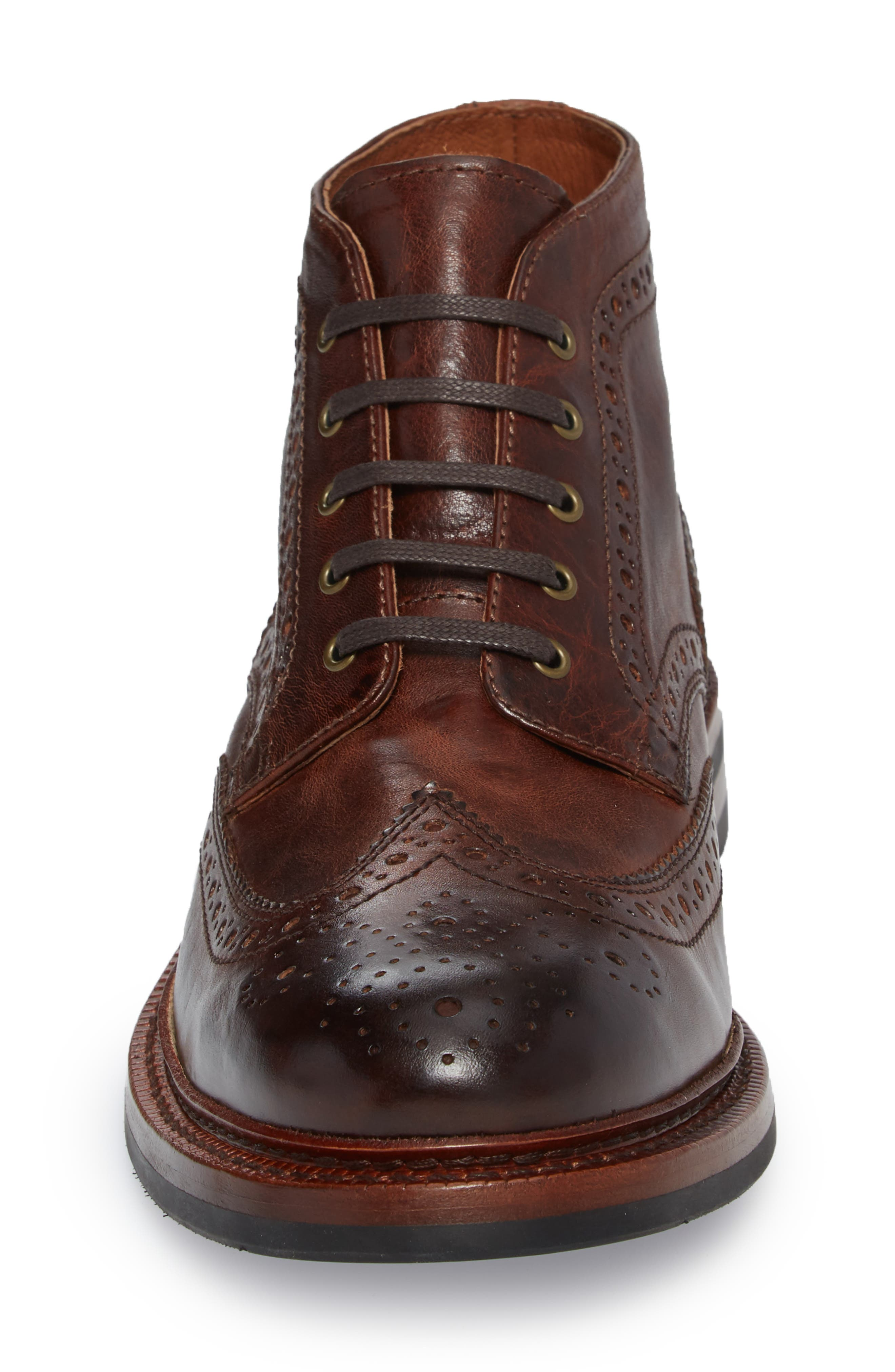 Graham Wingtip Boot,                             Alternate thumbnail 4, color,                             200