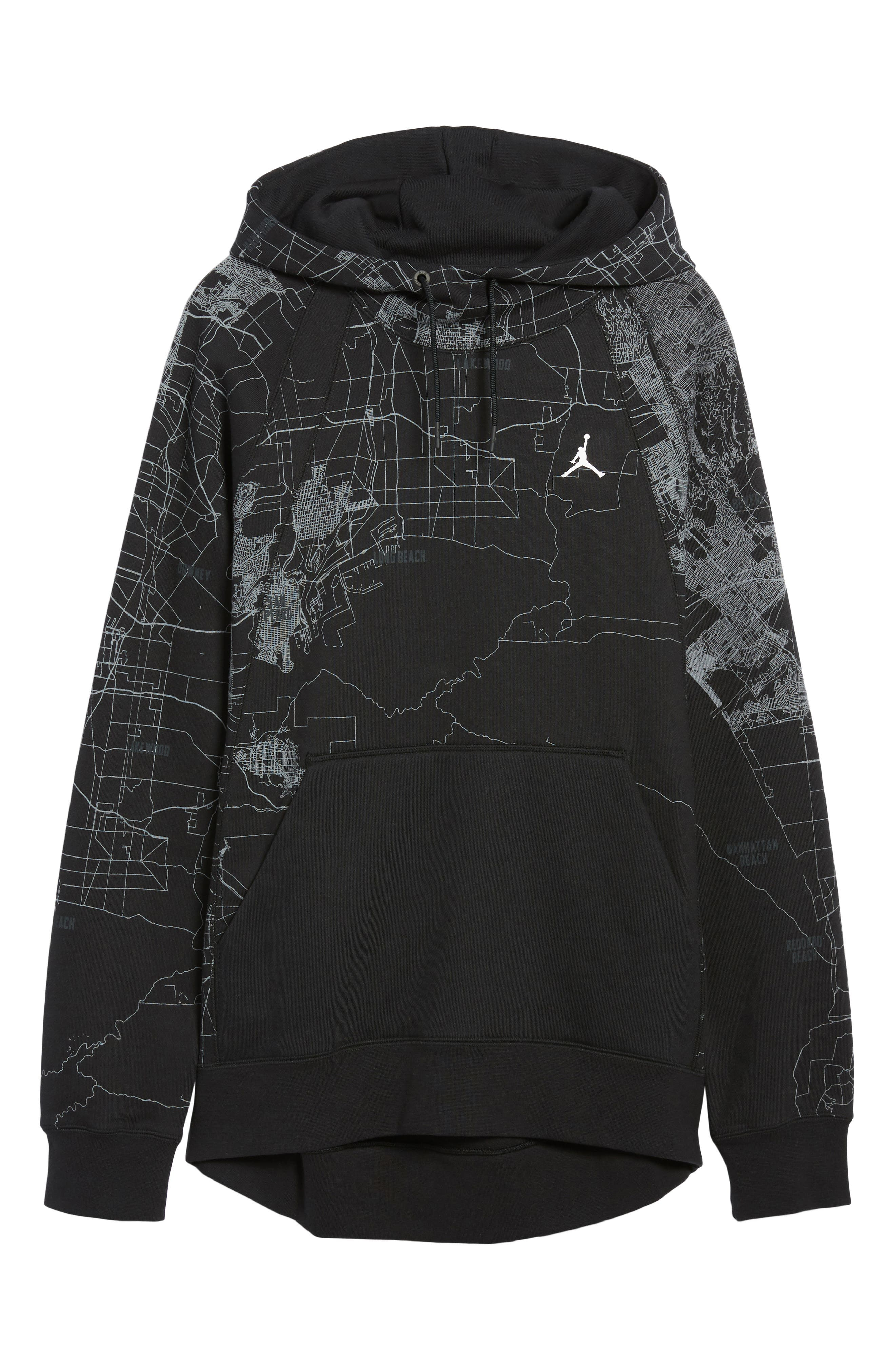 Wings Graphic Hoodie,                             Alternate thumbnail 6, color,                             010
