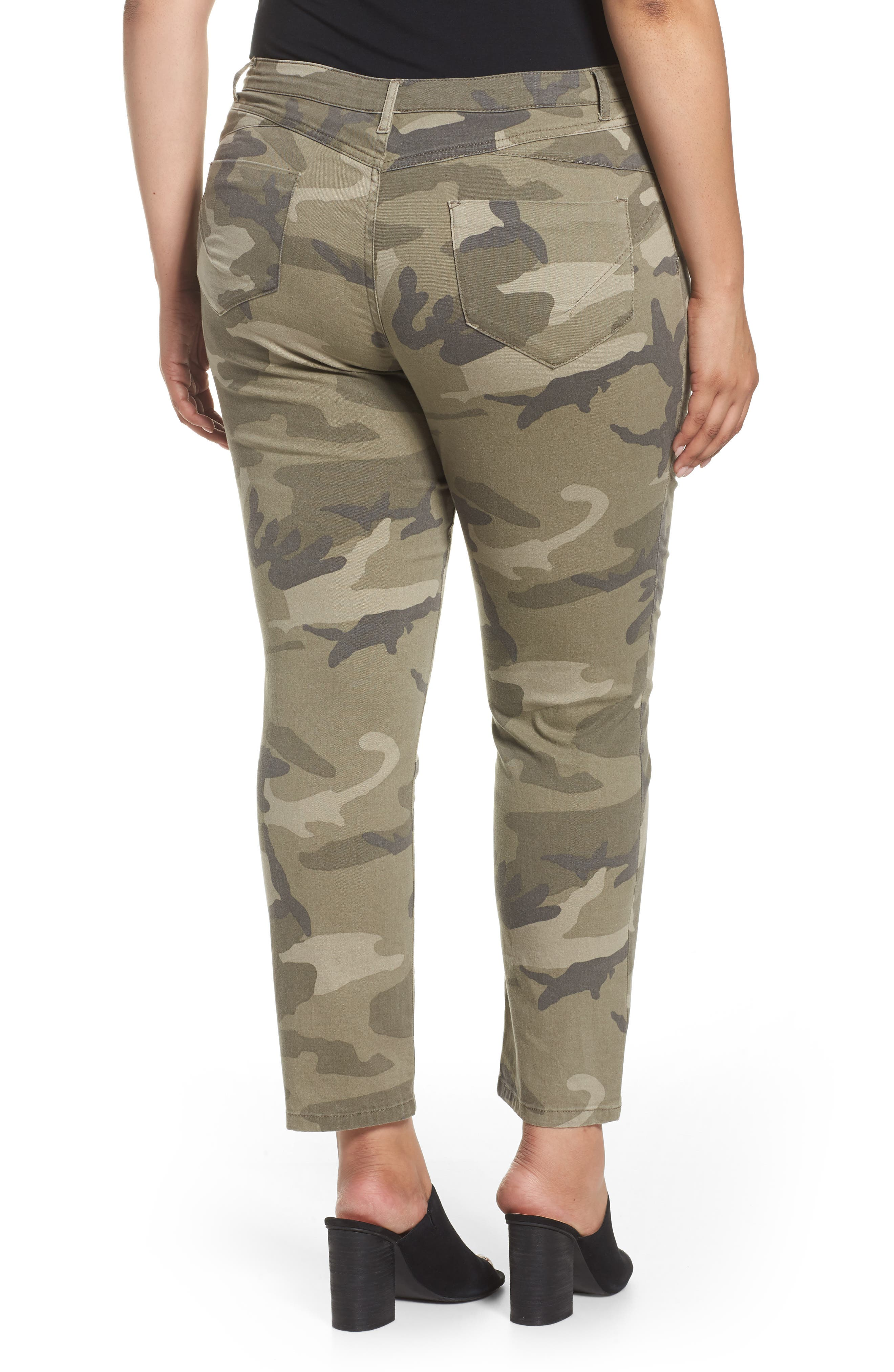 Camo Denim Pants,                             Alternate thumbnail 2, color,                             218