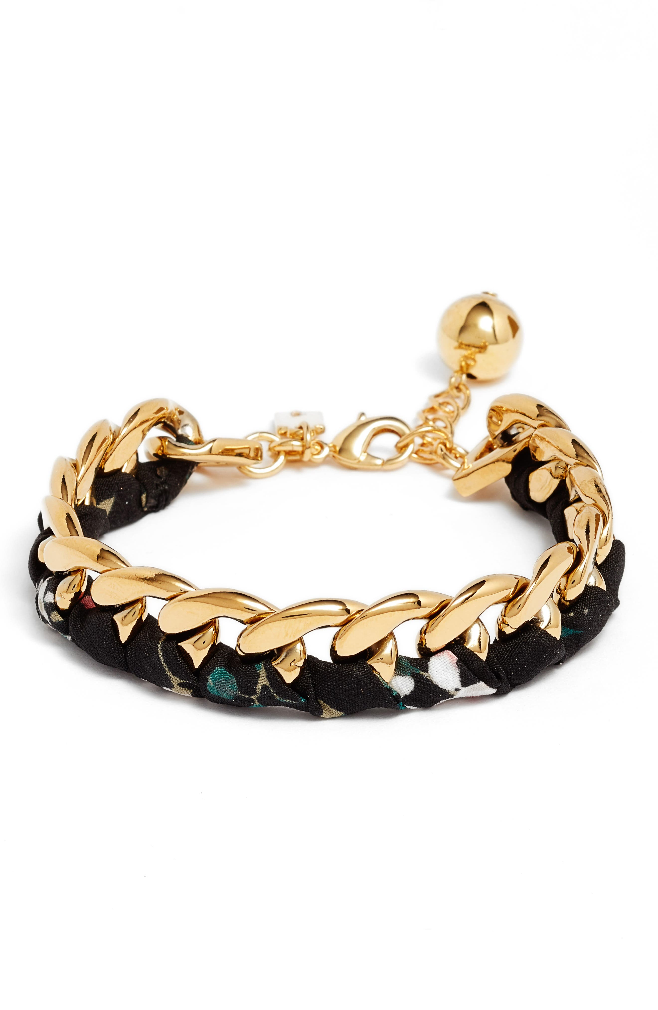 set sail bracelet,                             Main thumbnail 1, color,                             BLACK MULTI