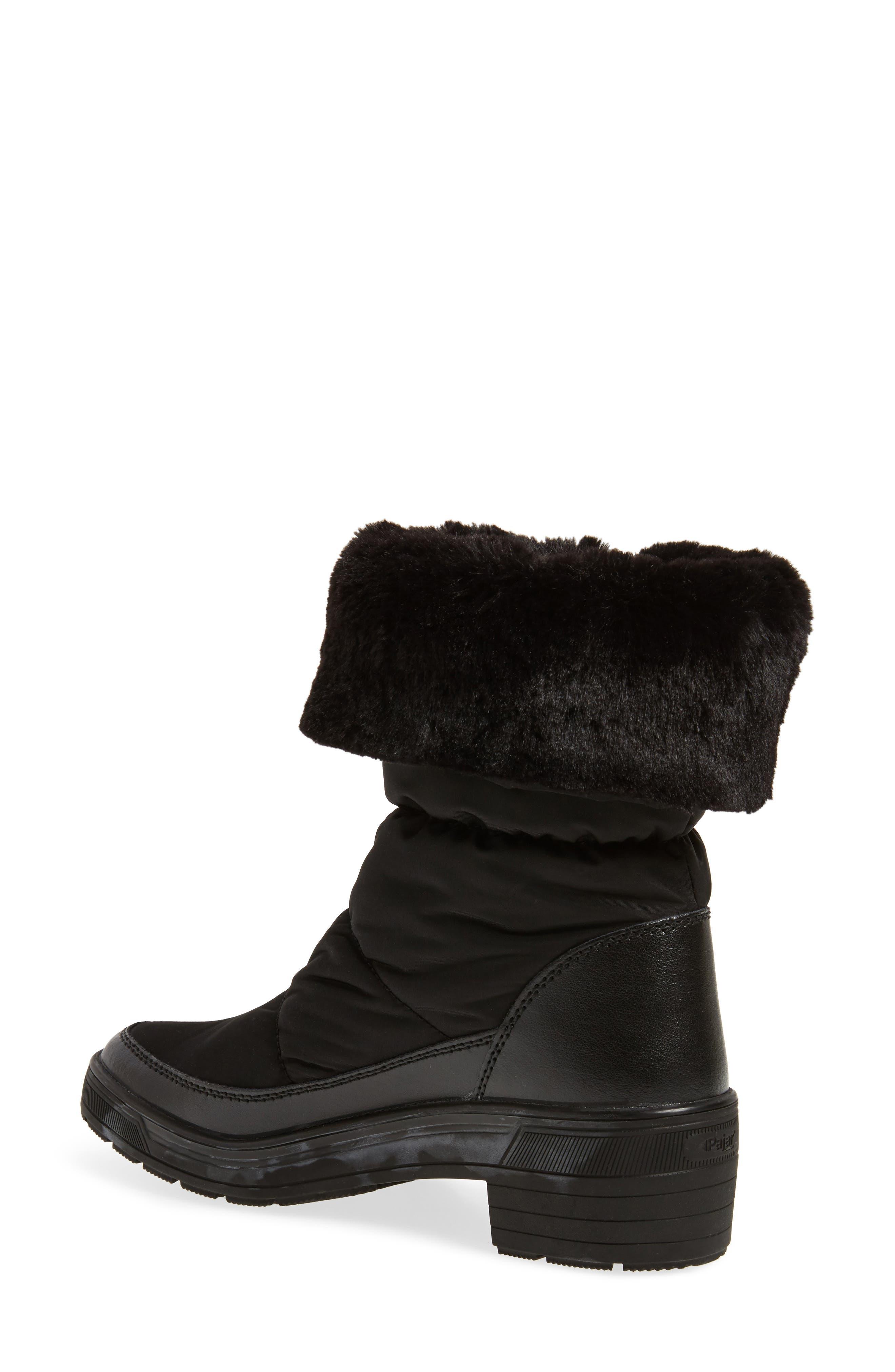Ventura Weatherproof Faux Fur Lined Boot,                             Alternate thumbnail 2, color,                             001