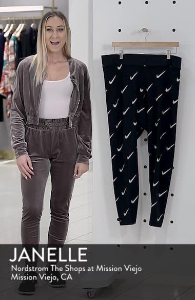 Sportswear Leg-A-See High Rise Print Leggings, sales video thumbnail
