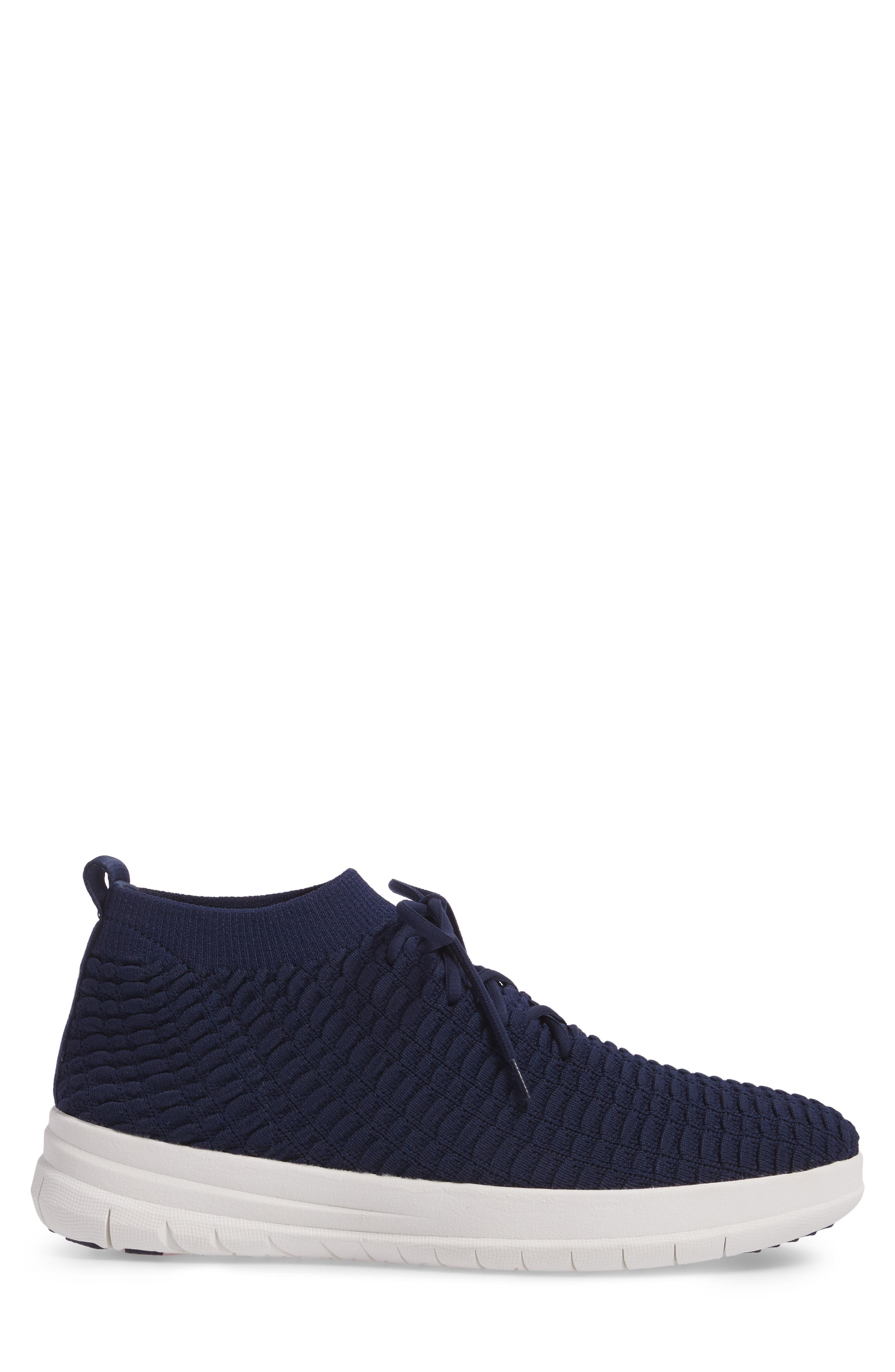 Uberknit Sneaker,                             Alternate thumbnail 3, color,                             DARK SAPPHIRE TEXTILE