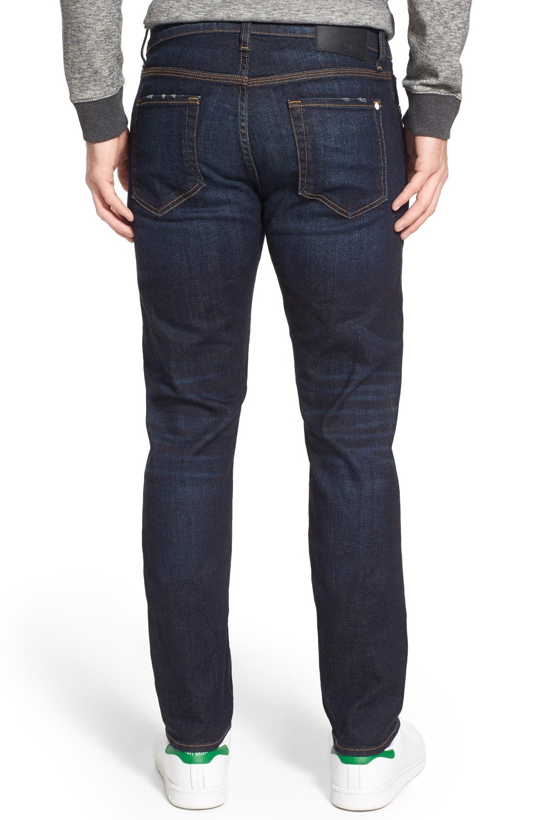 BALDWIN,                             'Henley' Slim Fit Jeans,                             Alternate thumbnail 5, color,                             409