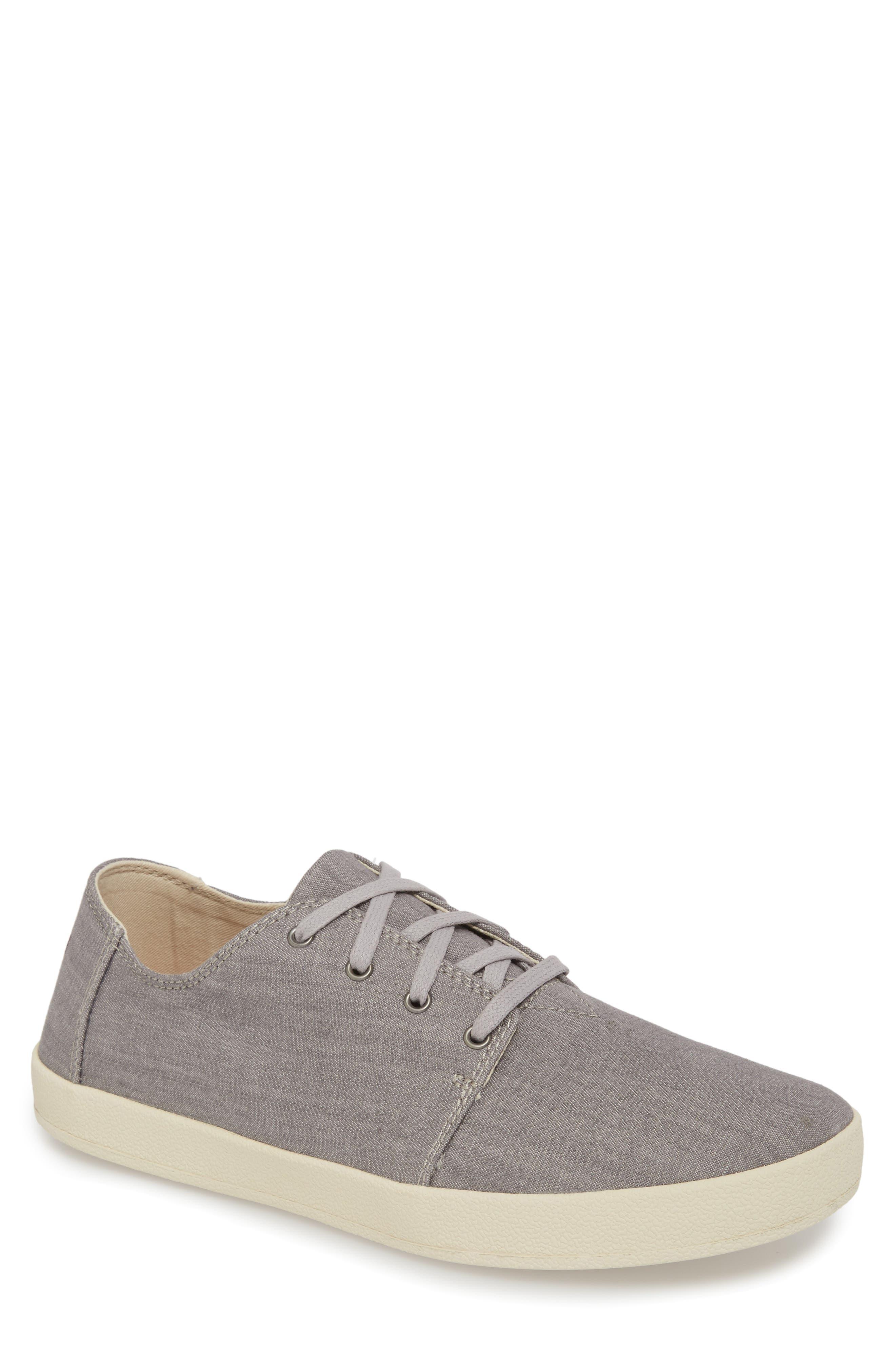 TOMS Payton Low-Top Sneakers in Grey Denim
