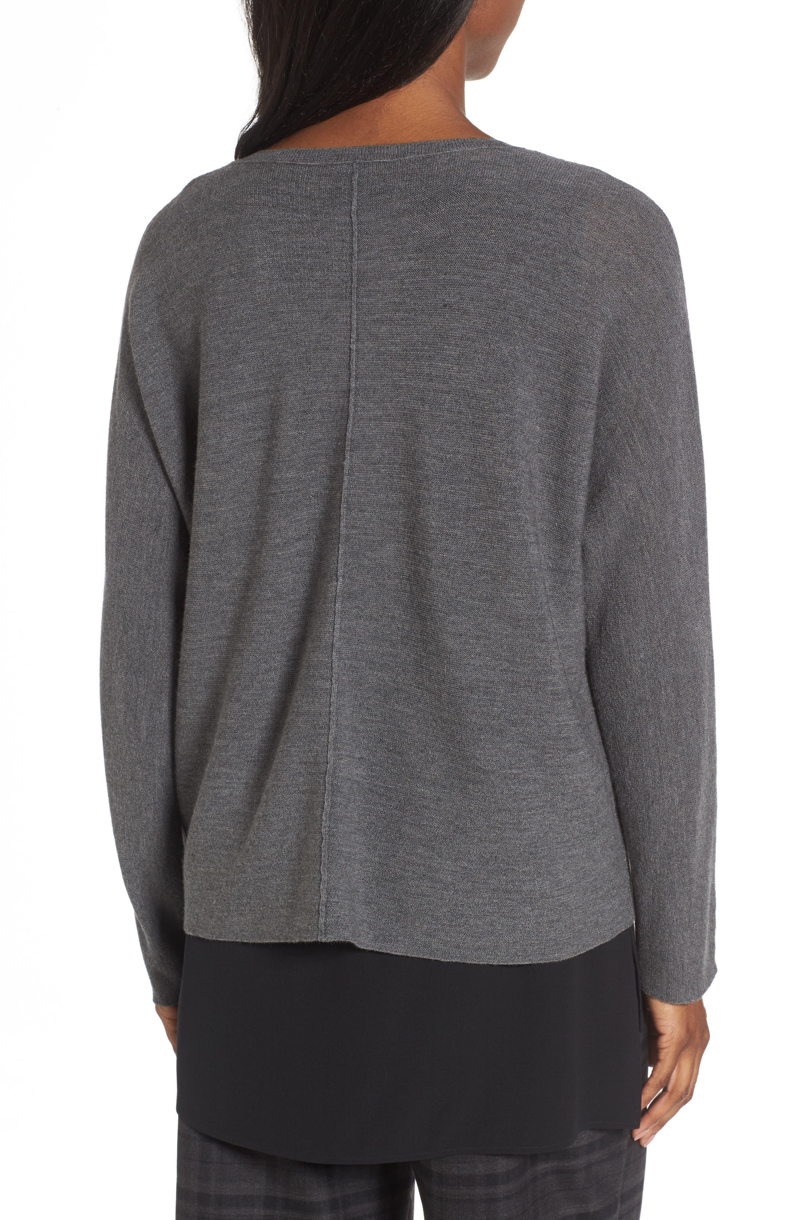 Merino Wool Sweater,                             Alternate thumbnail 7, color,
