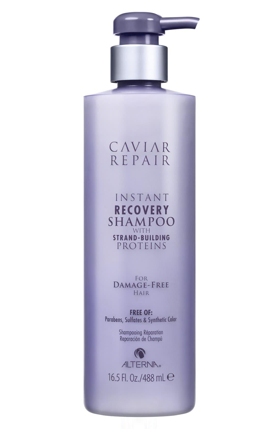 Caviar Repair Instant Recovery Shampoo,                             Main thumbnail 1, color,                             000
