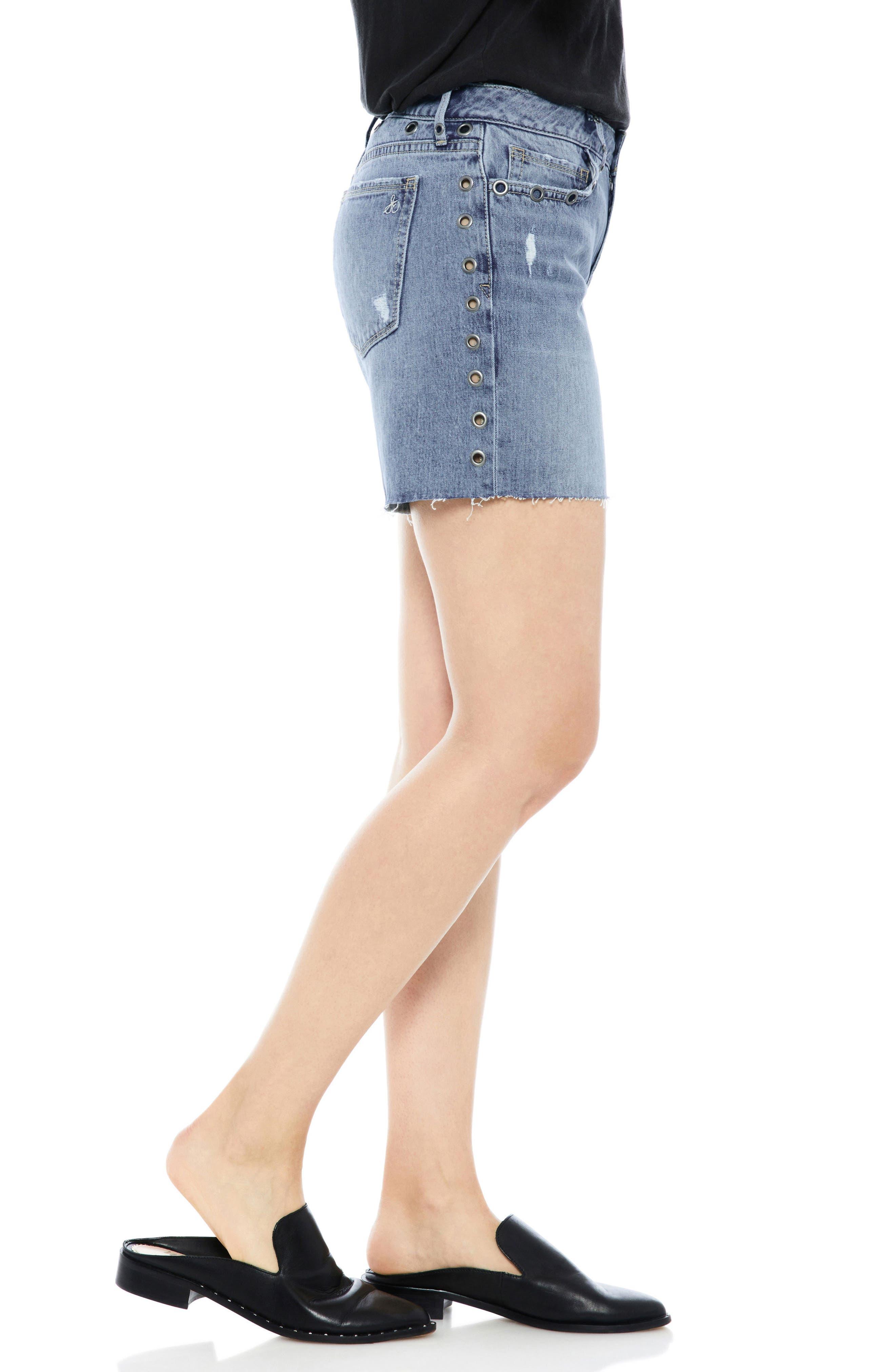 The Derby Grommet Bermuda Shorts,                             Alternate thumbnail 3, color,                             450