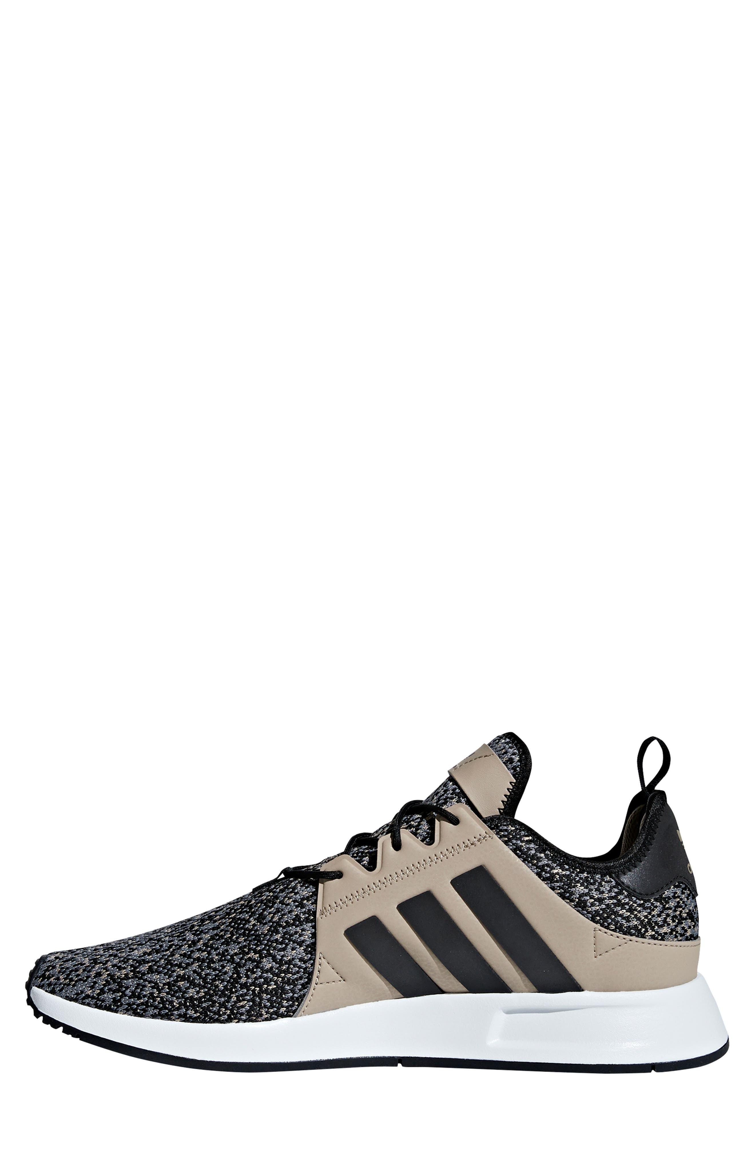 X_PLR Sneaker,                             Alternate thumbnail 9, color,                             KHAKI / CORE BLACK / WHITE