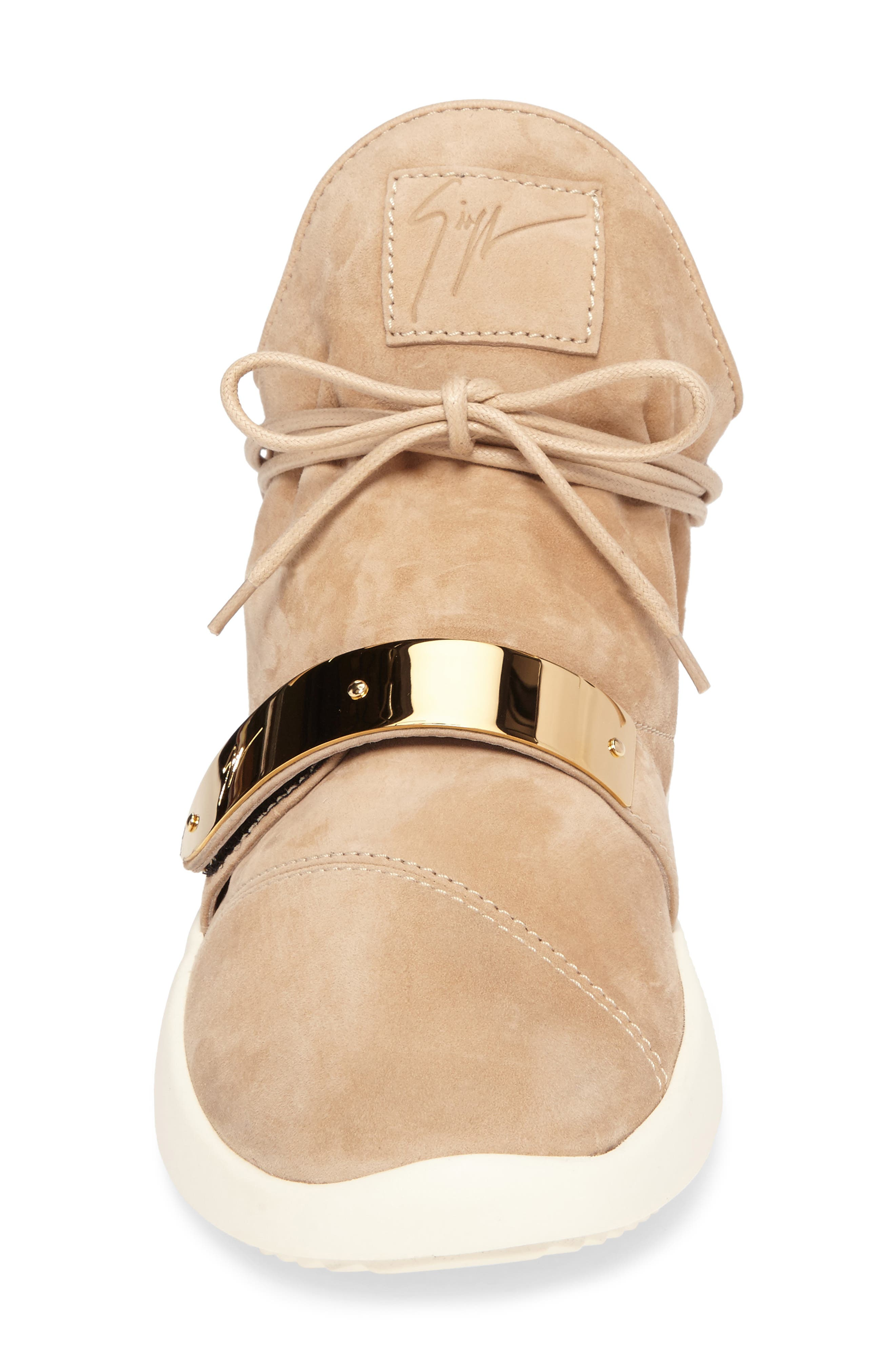 Gold Bar Mid-Top Sneaker,                             Alternate thumbnail 4, color,                             238