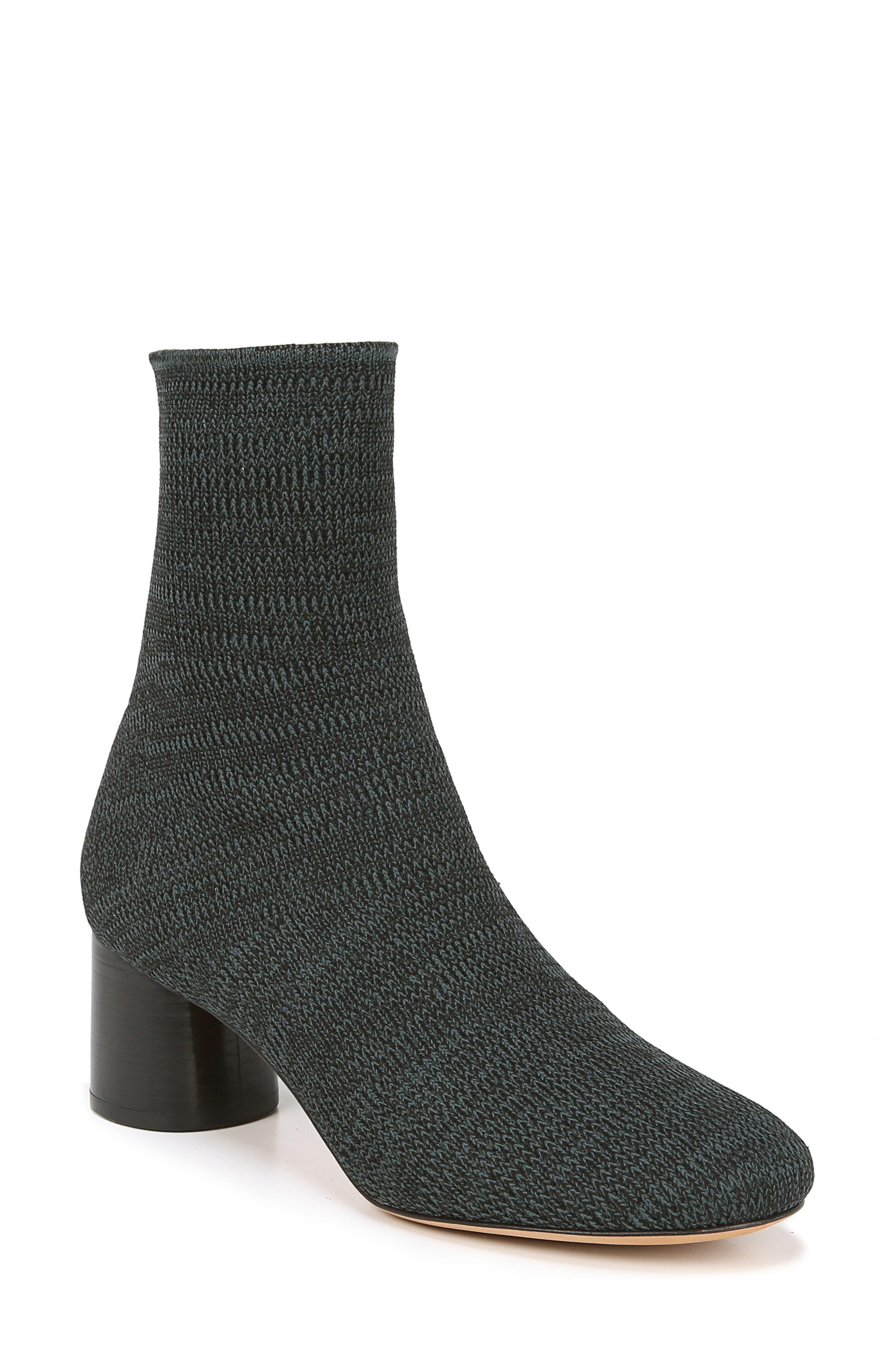 Tasha Sock Bootie,                         Main,                         color, JUNIPER