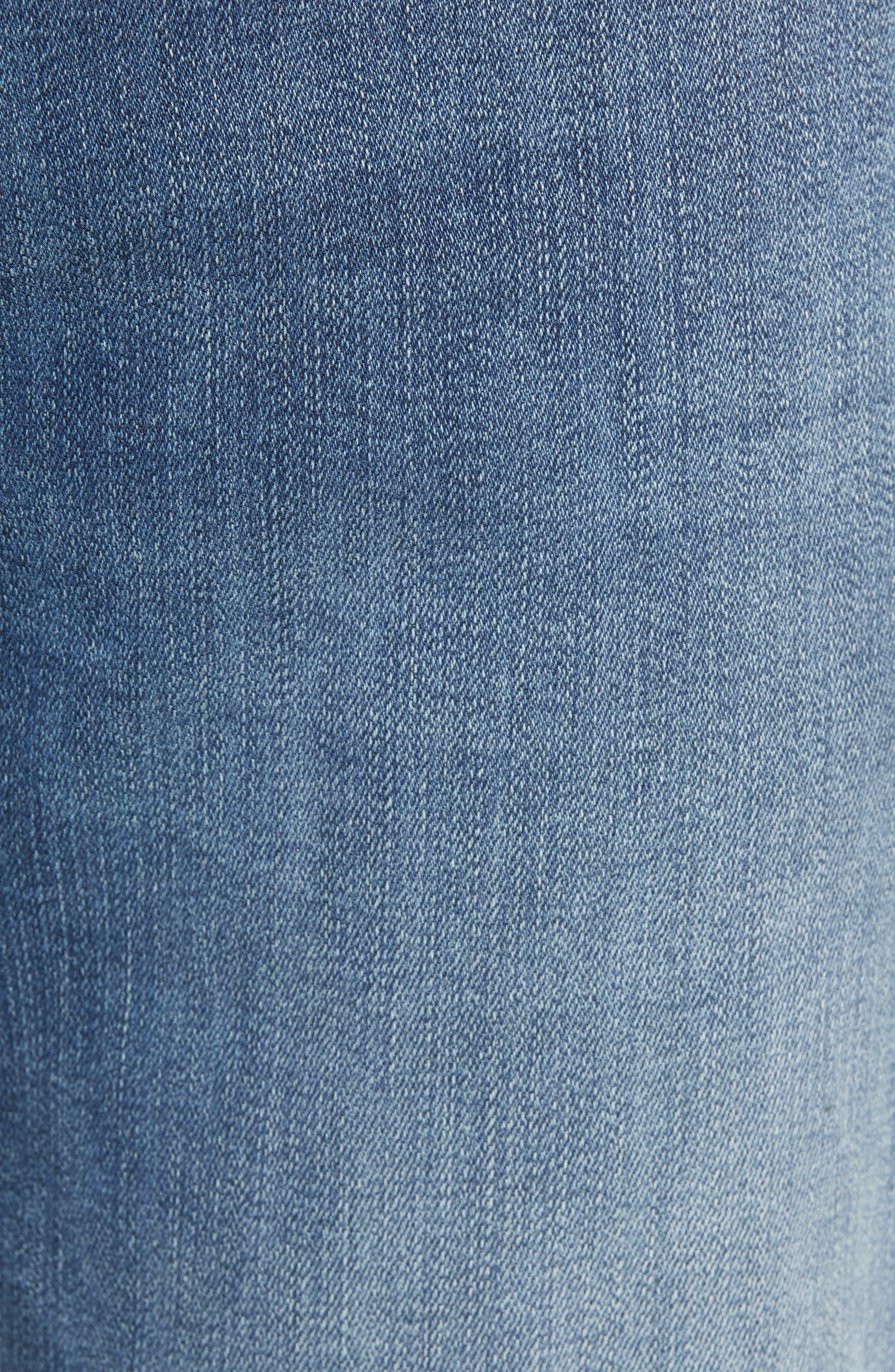 Jimmy Slim Straight Leg Jeans,                             Alternate thumbnail 5, color,                             FOSTER