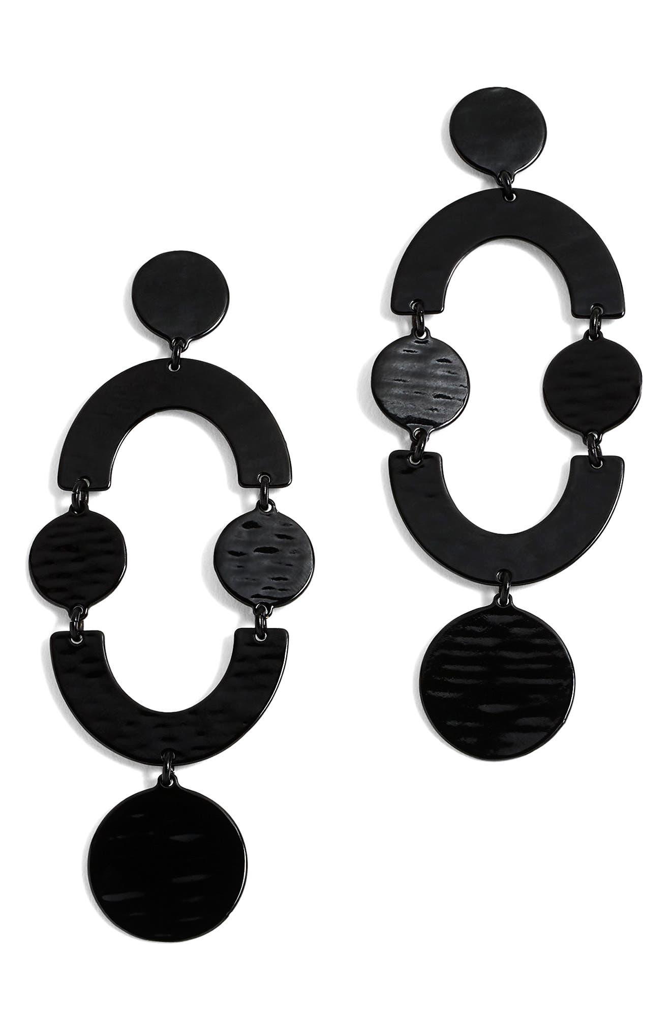 Circlet Earrings,                             Main thumbnail 1, color,                             001