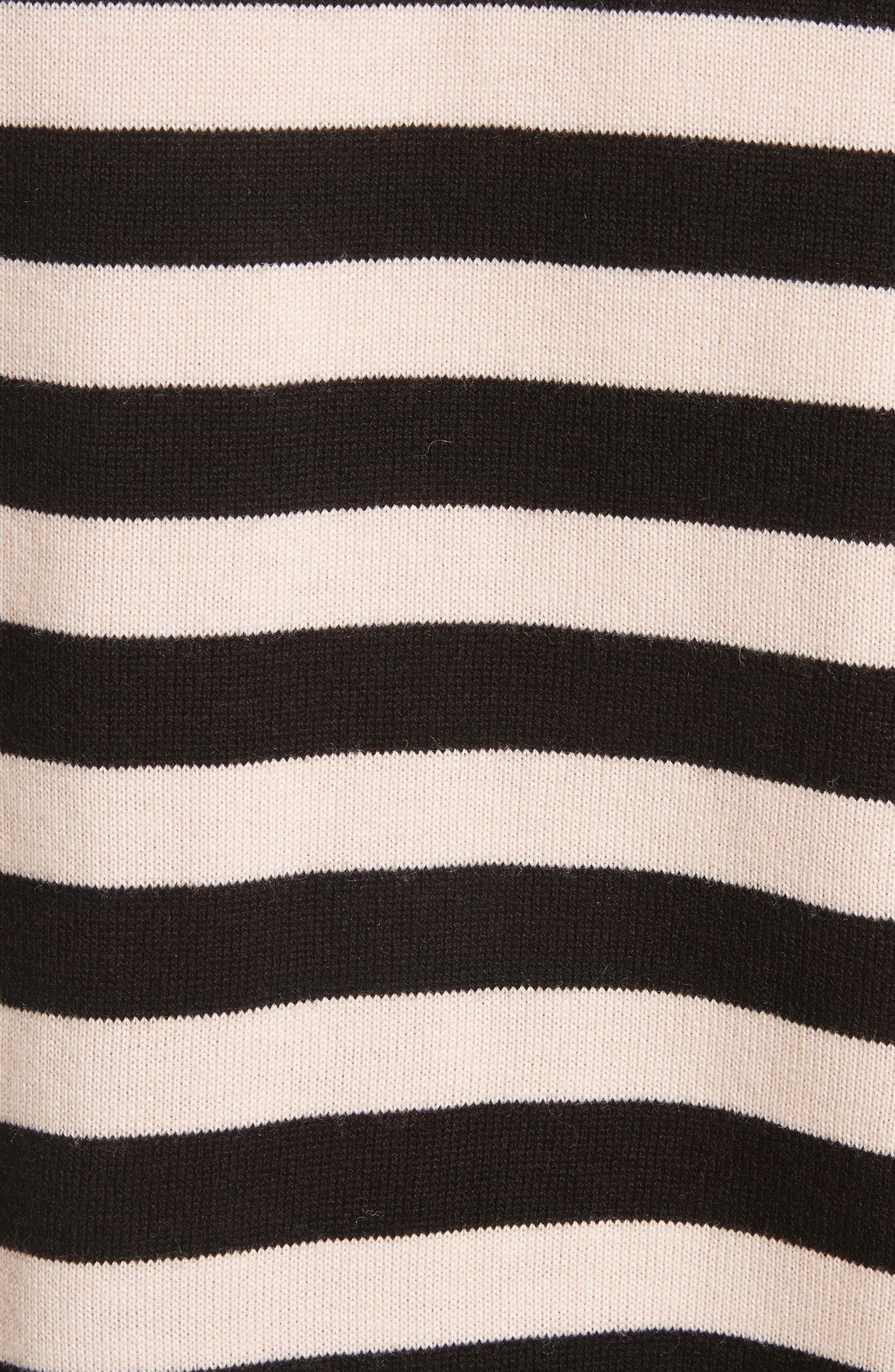 Gabbe Stripe Sweater,                             Alternate thumbnail 5, color,                             008