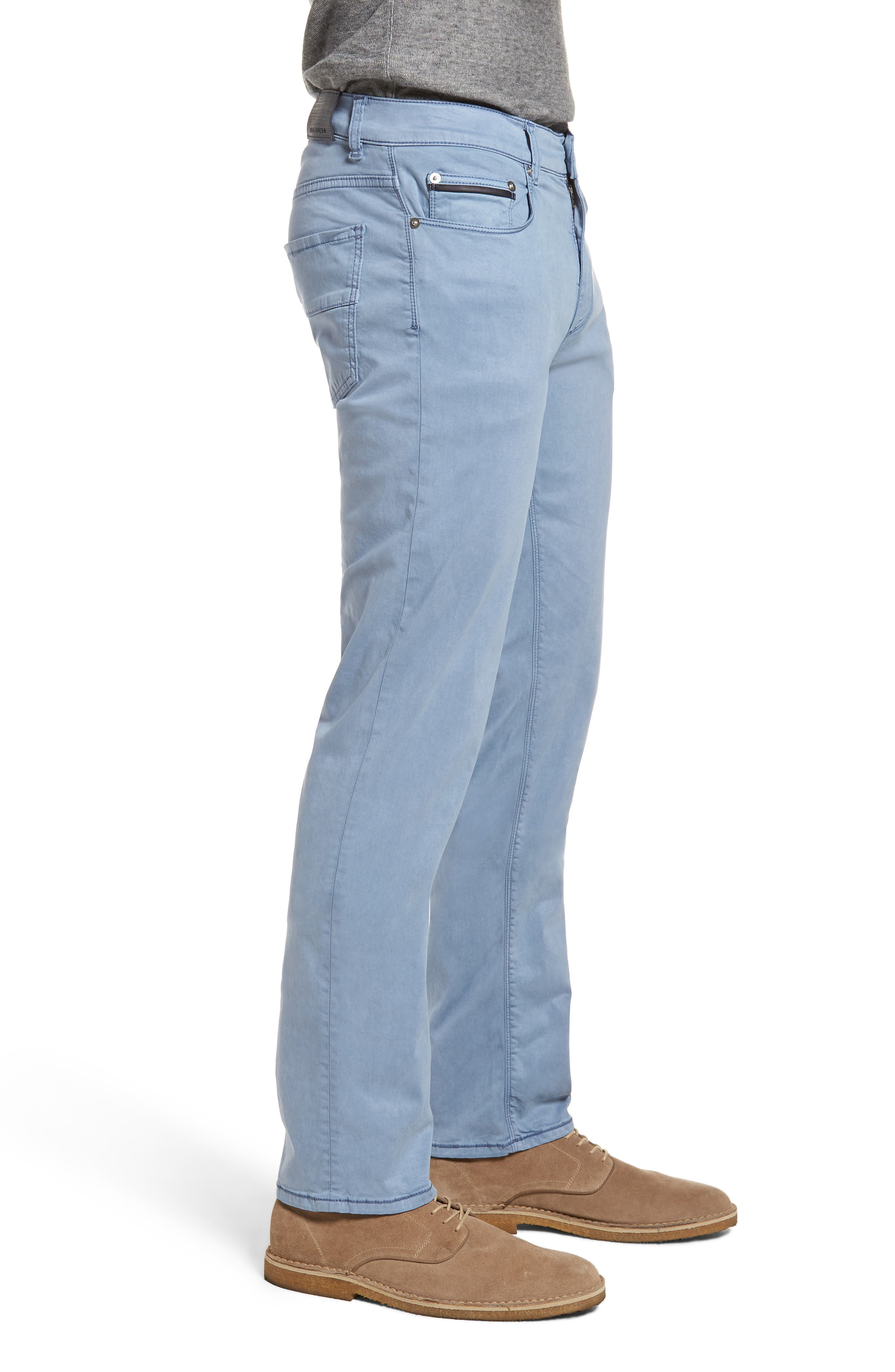 Slim Fit Washed Five-Pocket Pants,                             Alternate thumbnail 12, color,