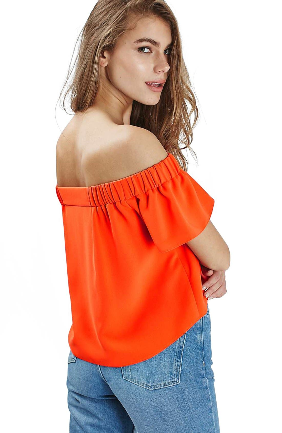 'Livi' Off the Shoulder Top,                             Alternate thumbnail 38, color,