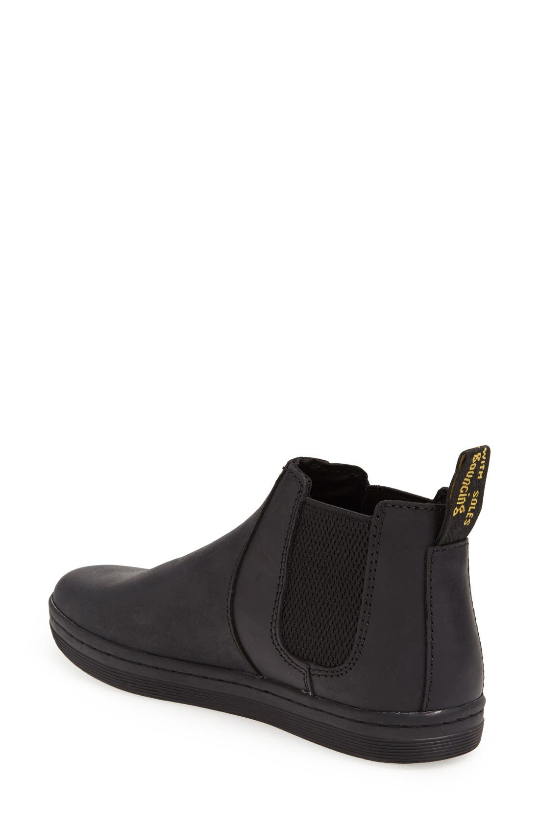 'Katya' Chelsea Boot,                             Alternate thumbnail 3, color,                             001